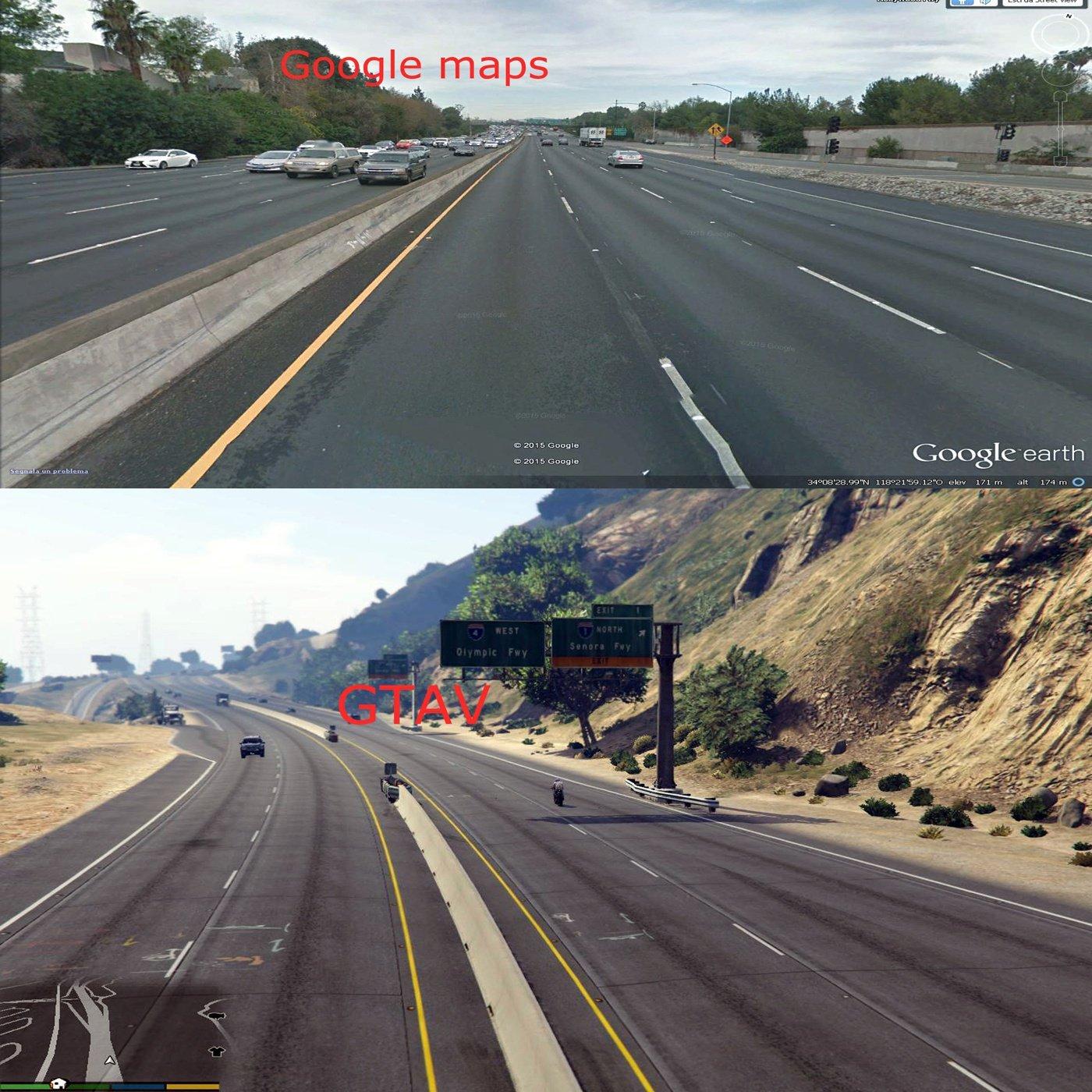 L A  Roads [out dated] - GTA5-Mods com
