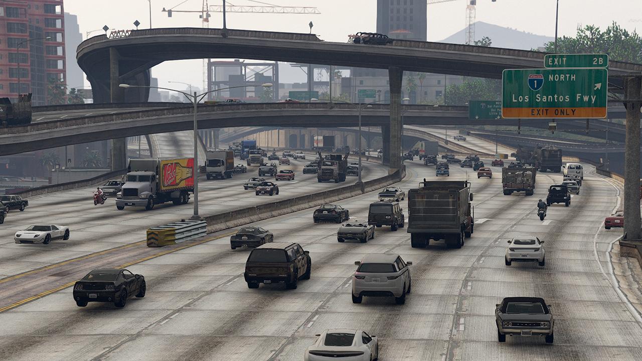 L S Traffic - GTA5-Mods com