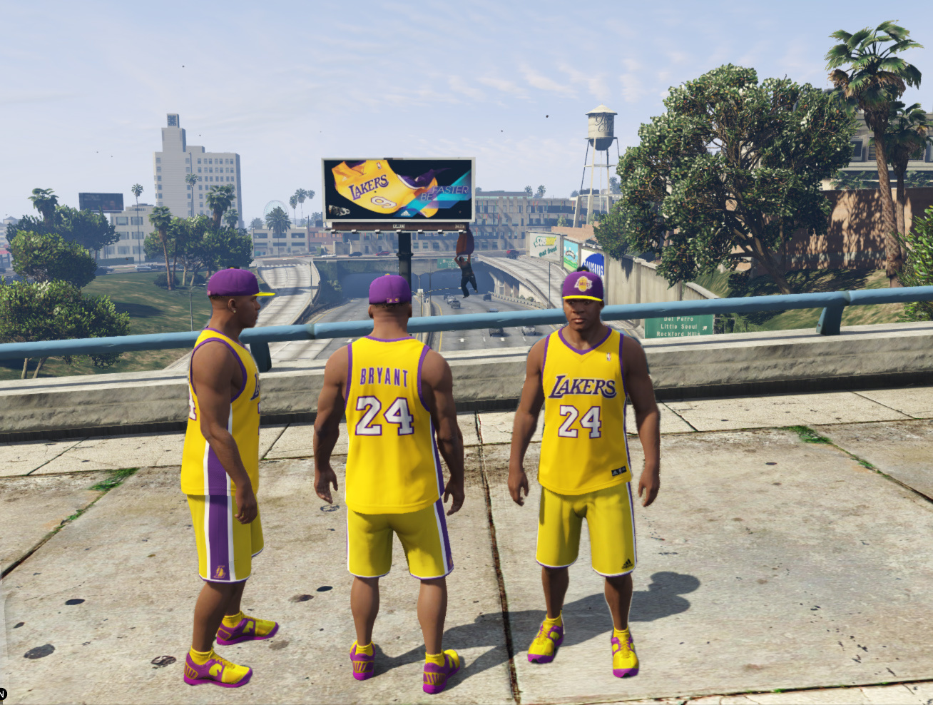 sale retailer c54d8 433f0 LA Lakers Clothing Pack - GTA5-Mods.com