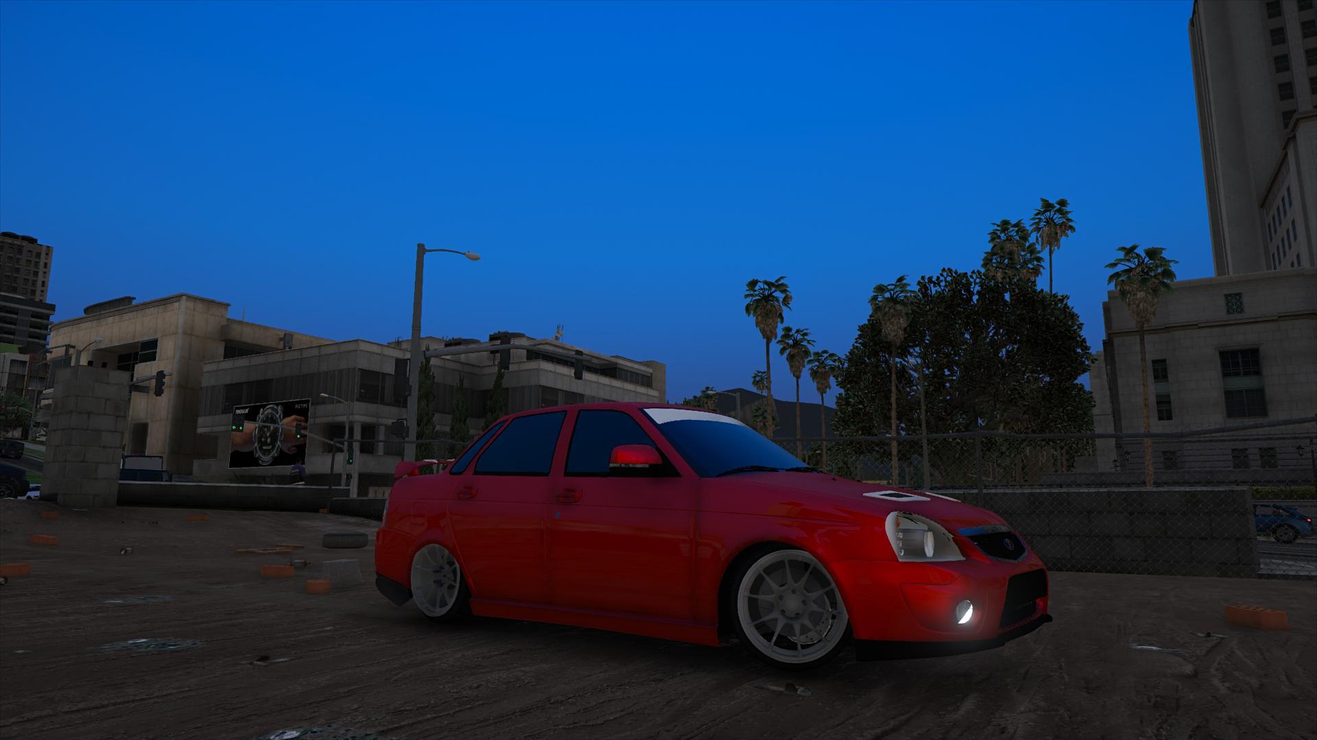 Приора 2 в гта, Lada Priora 2 для gta San Andreas 26 фотография