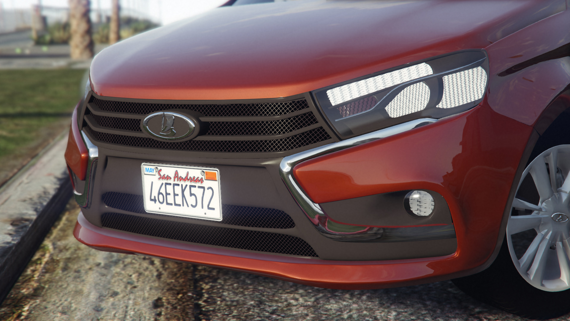 2015 Lada Vesta для GTA V - Скриншот 1