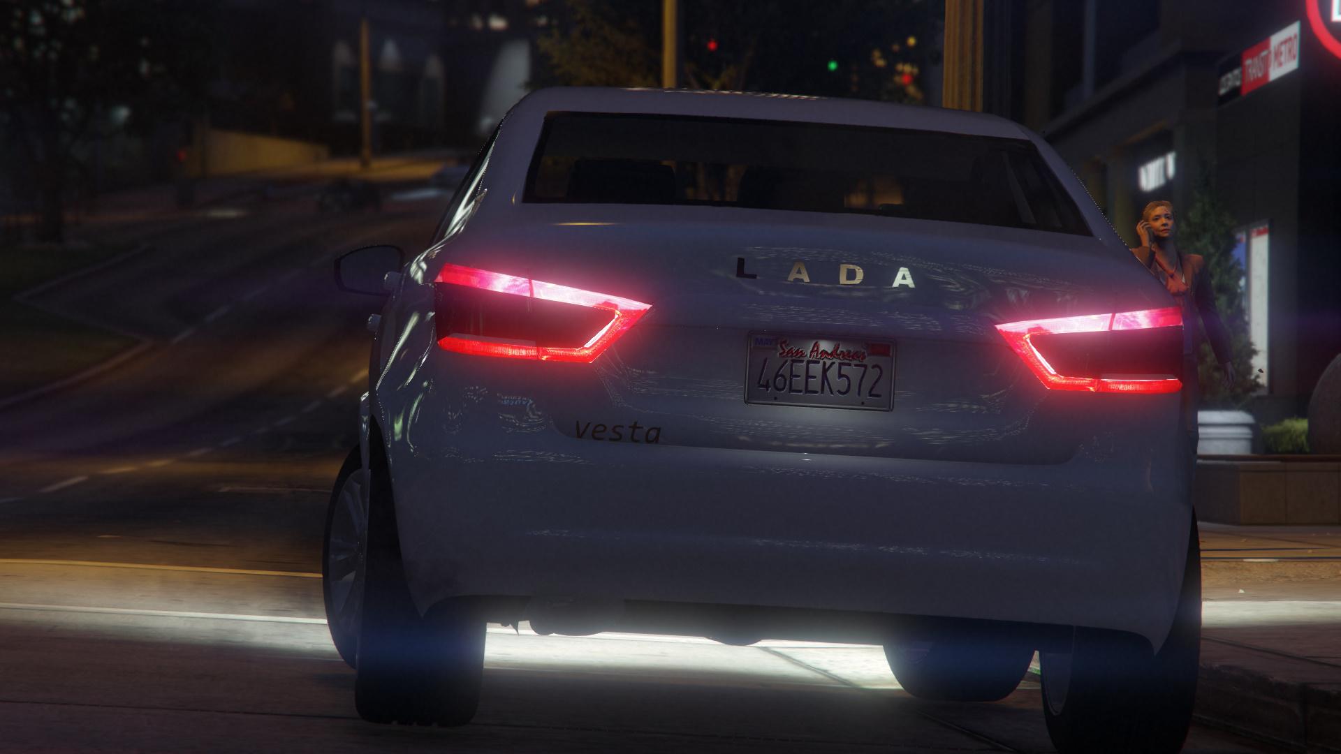 2015 Lada Vesta для GTA V - Скриншот 3