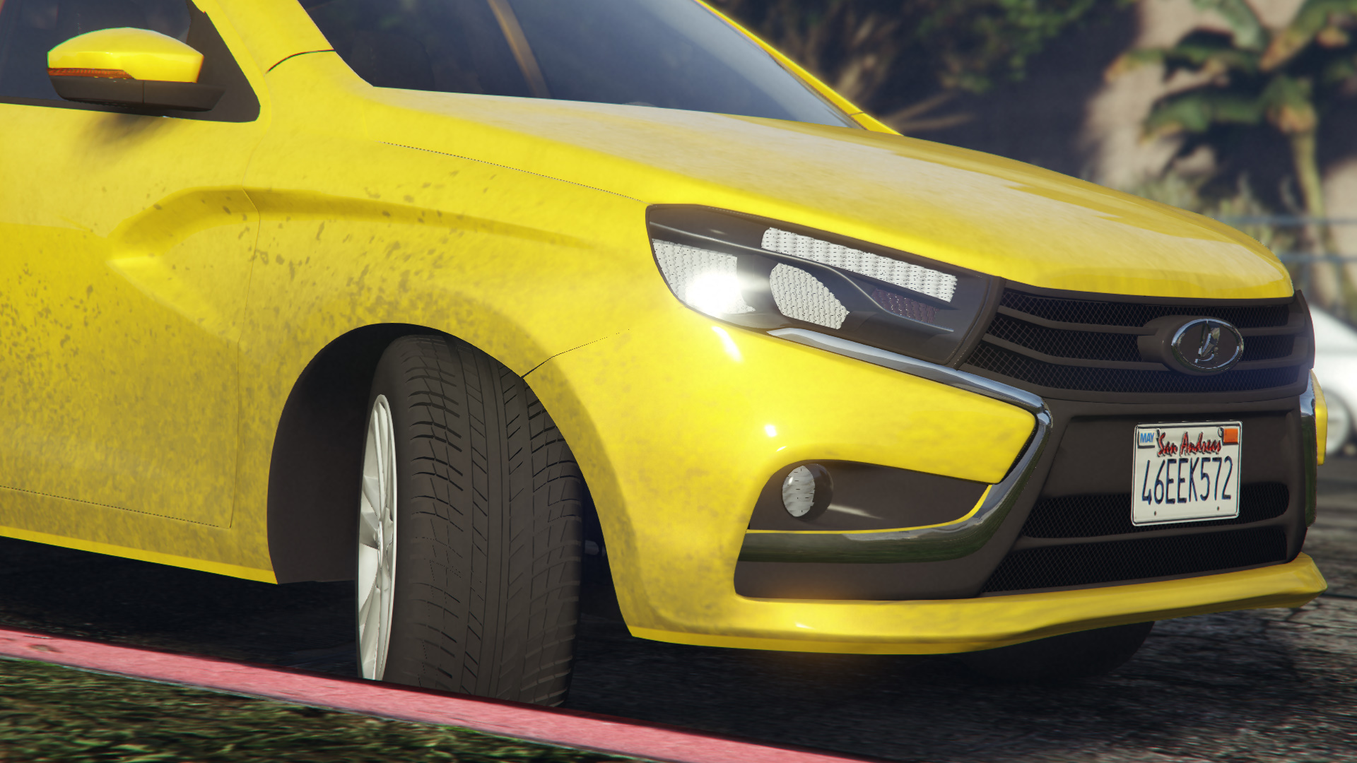 2015 Lada Vesta для GTA V - Скриншот 2