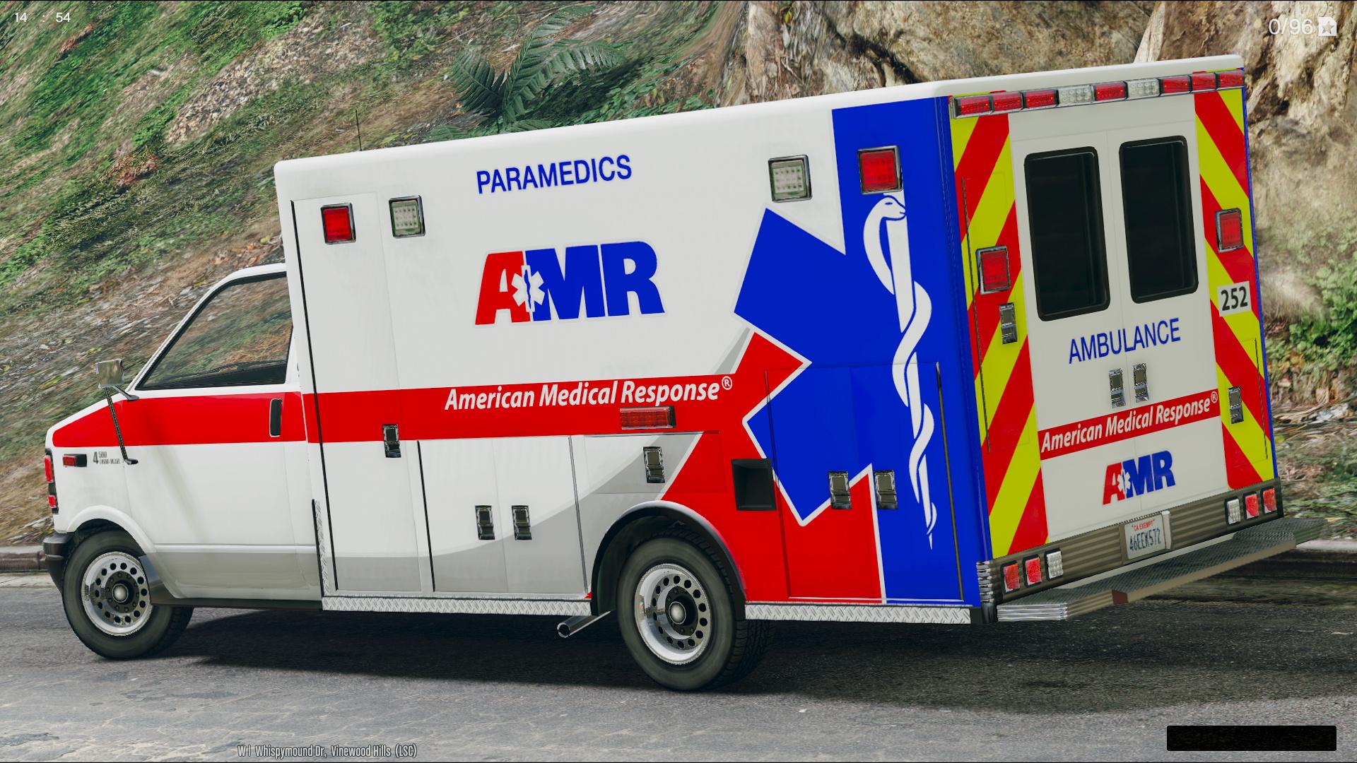 Lafd Liveries For Brute Ambulance Gta5 Mods Com