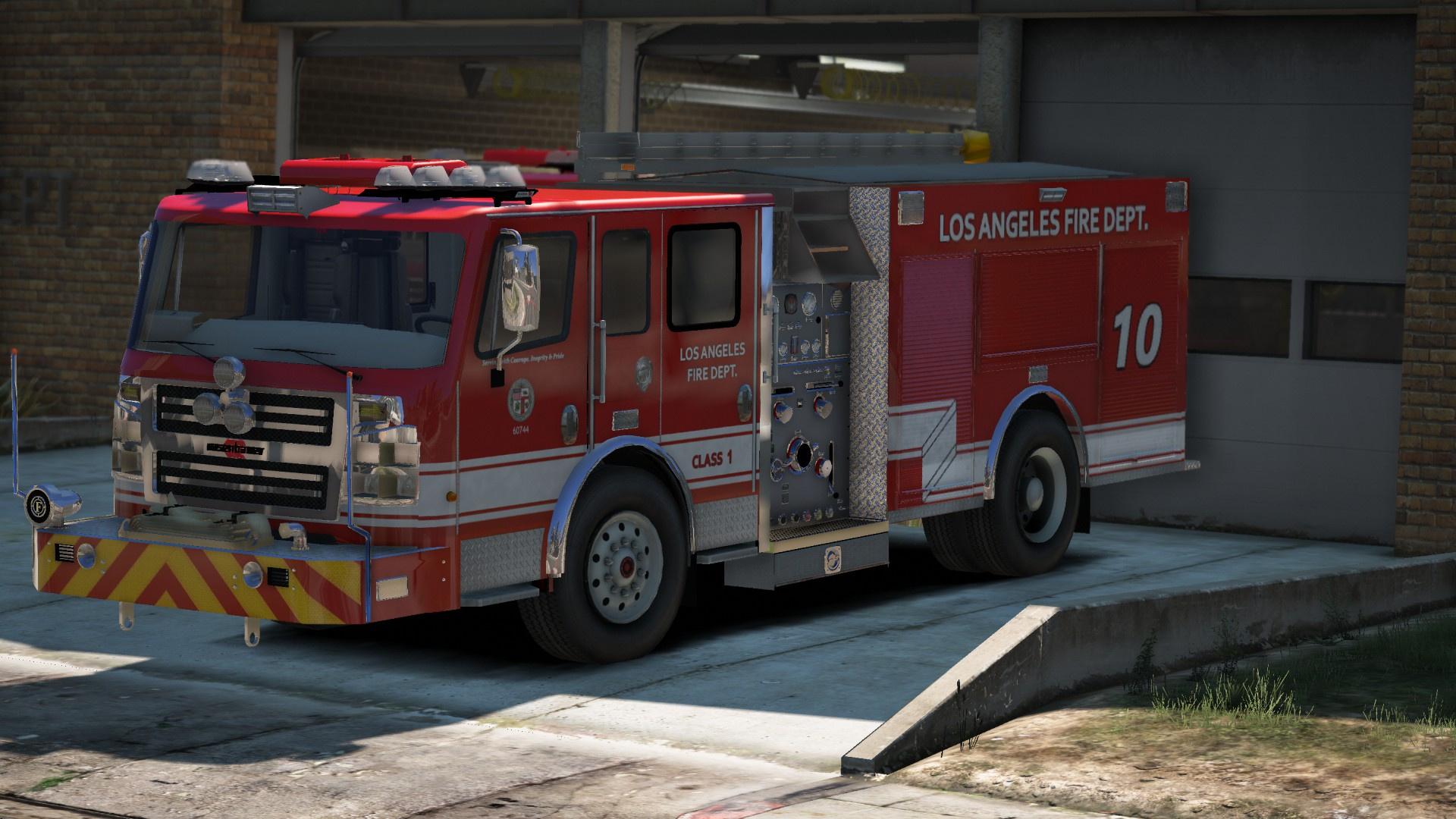 LAFD skins for Medic4523's Fire & EMS Pack - GTA5-Mods com