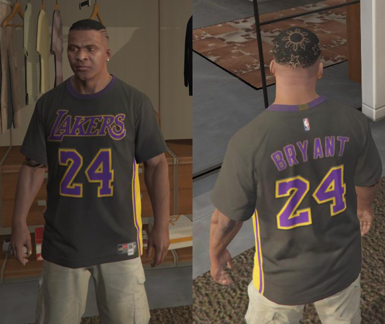9aa76dcdb55 Lakers Hollywood Nights Jersey - GTA5-Mods.com
