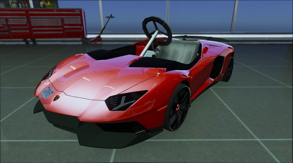 Lamborghini Aventador Jota Kart Add On Gta5 Mods Com