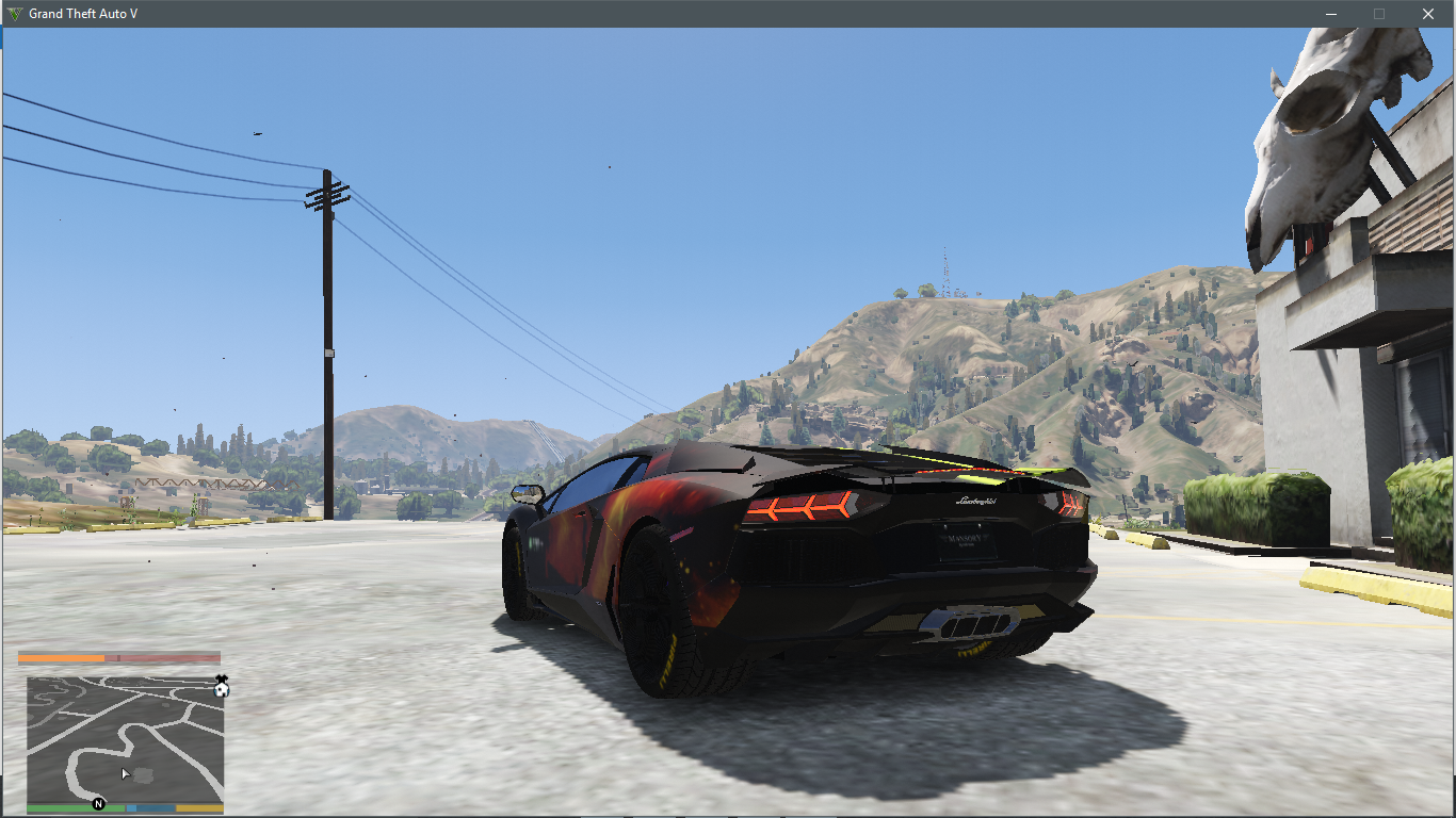 Galaxy Paint Job For Smokey S Lamborghini Aventador Gta5 Mods Com