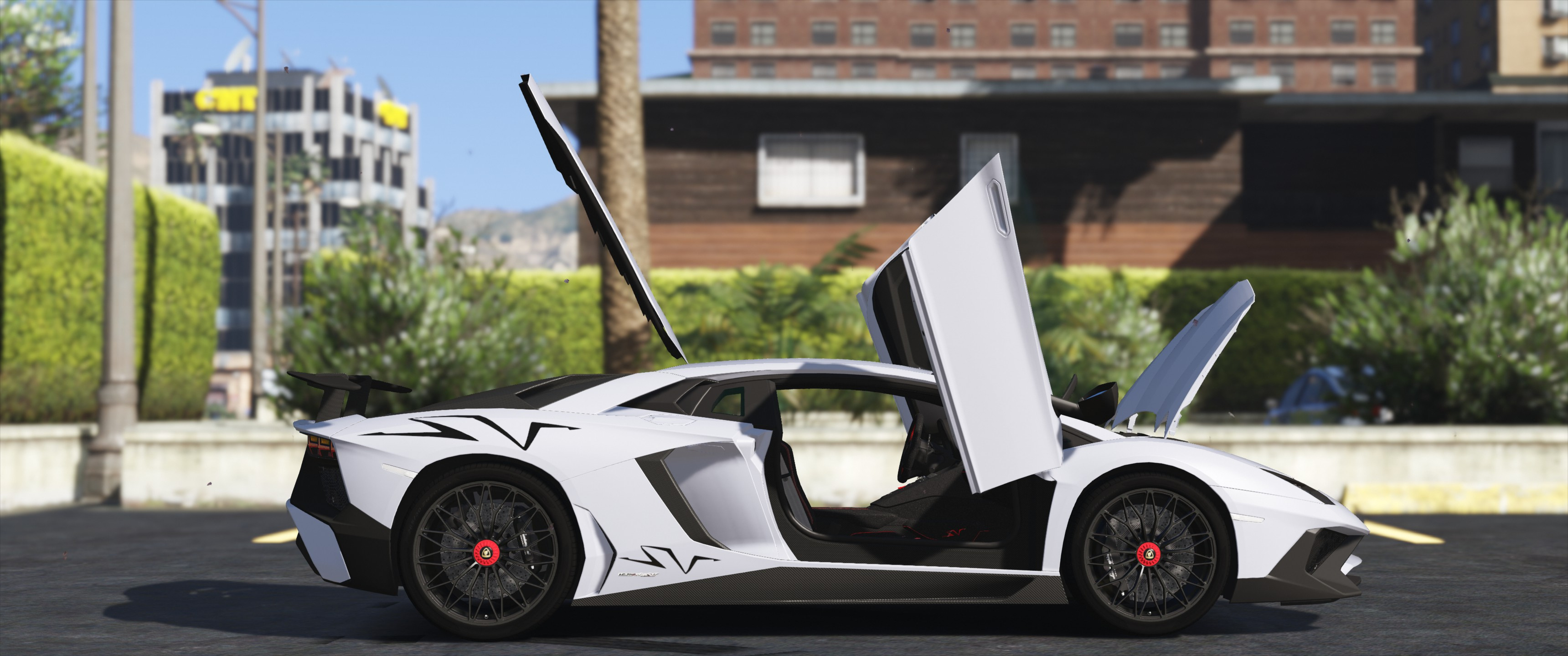 Lamborghini Aventador Lp 750 4 Sv 15 Add On Gta5 Mods Com