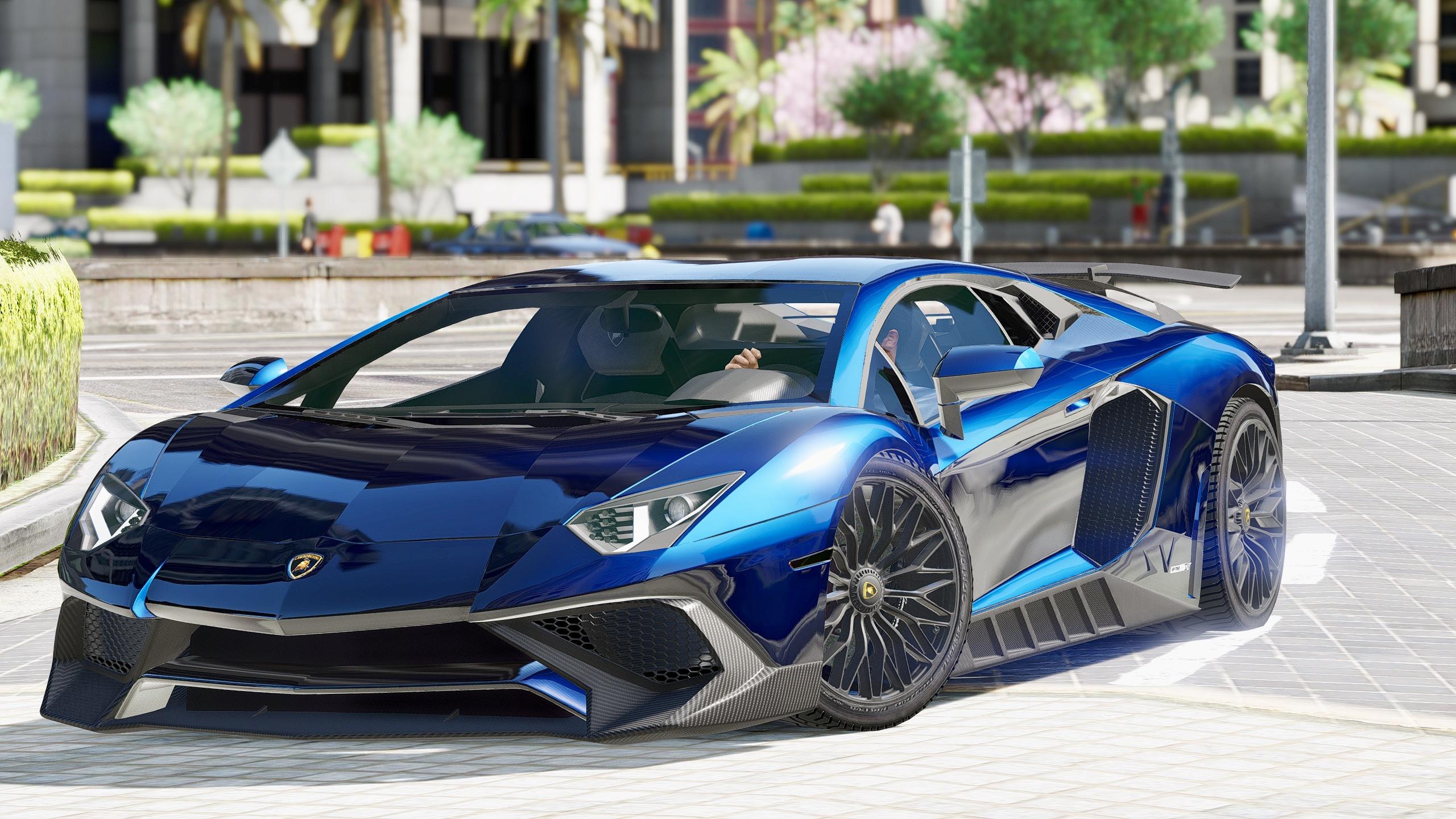Lamborghini Aventador LP750-4 SV [Add-On / Replace] - GTA5 ...