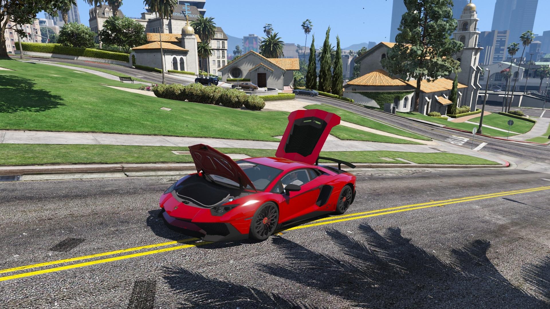 Lamborghini Aventador SV - GTA5-Mods.com