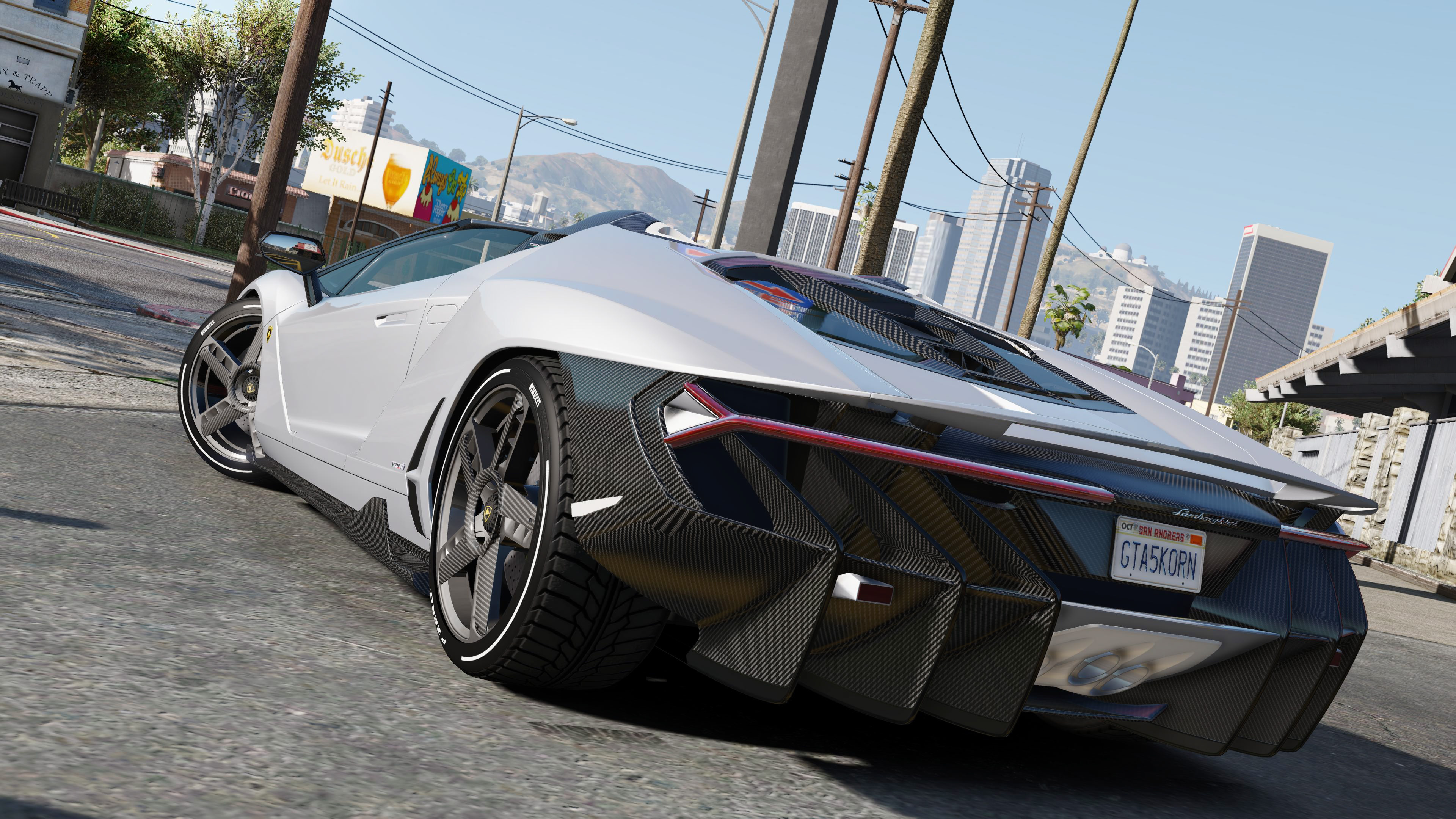2017 Lamborghini Centenario LP 770-4 Roadster [Add-On / Replace] 1.1A