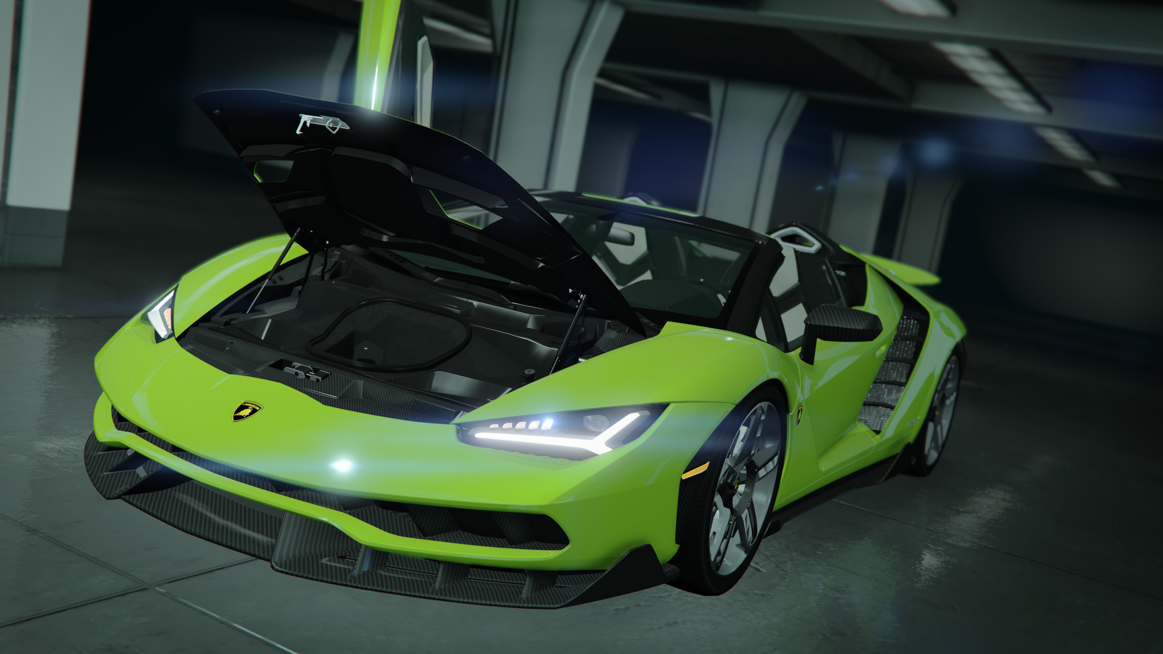 Lamborghini Centenario Roadster Lp 770 4 Remastered Gta5 Mods Com