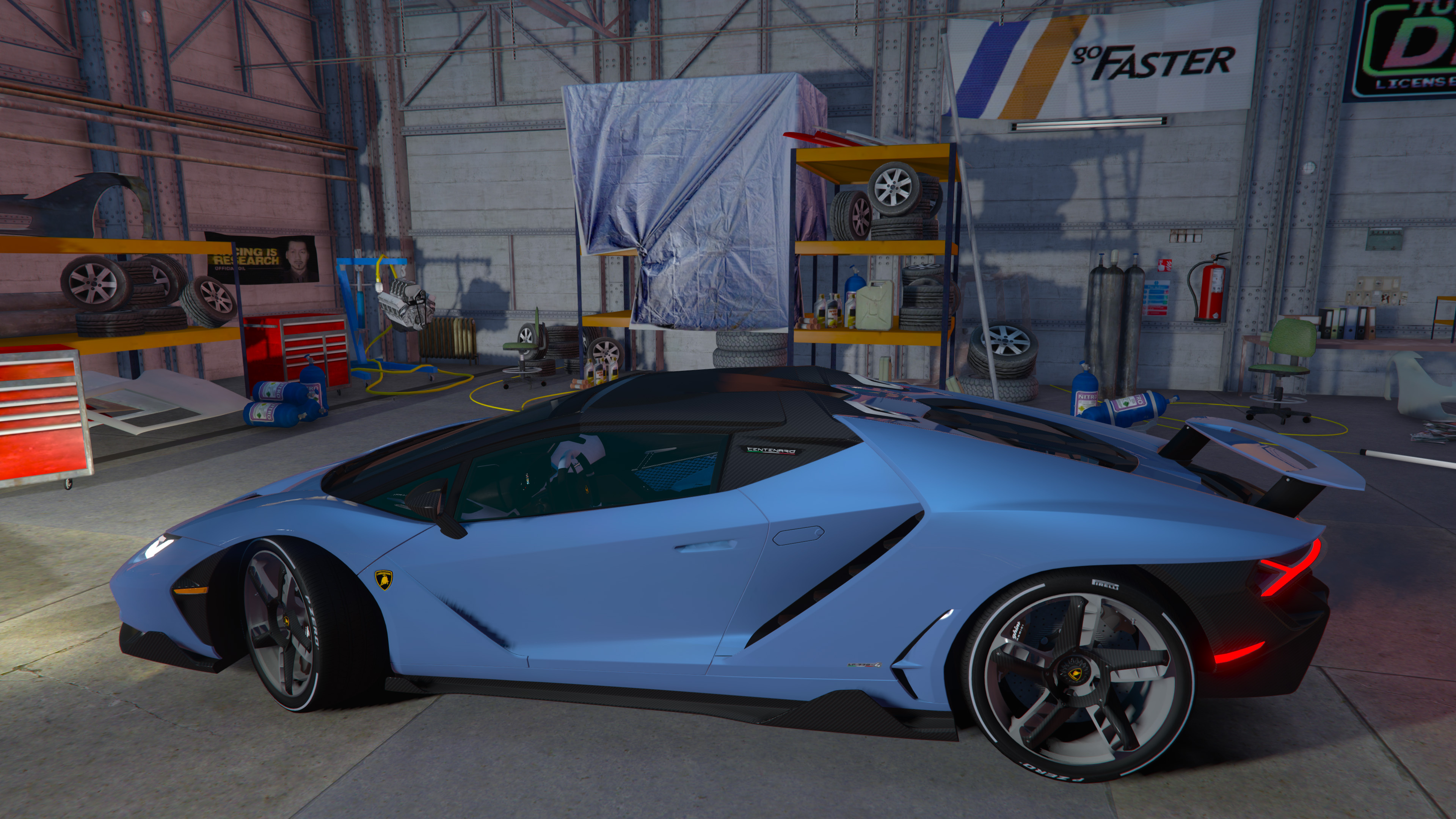 Lamborghini Centenario Roadster Lp 770 4 Remastered Gta5 Mods Com