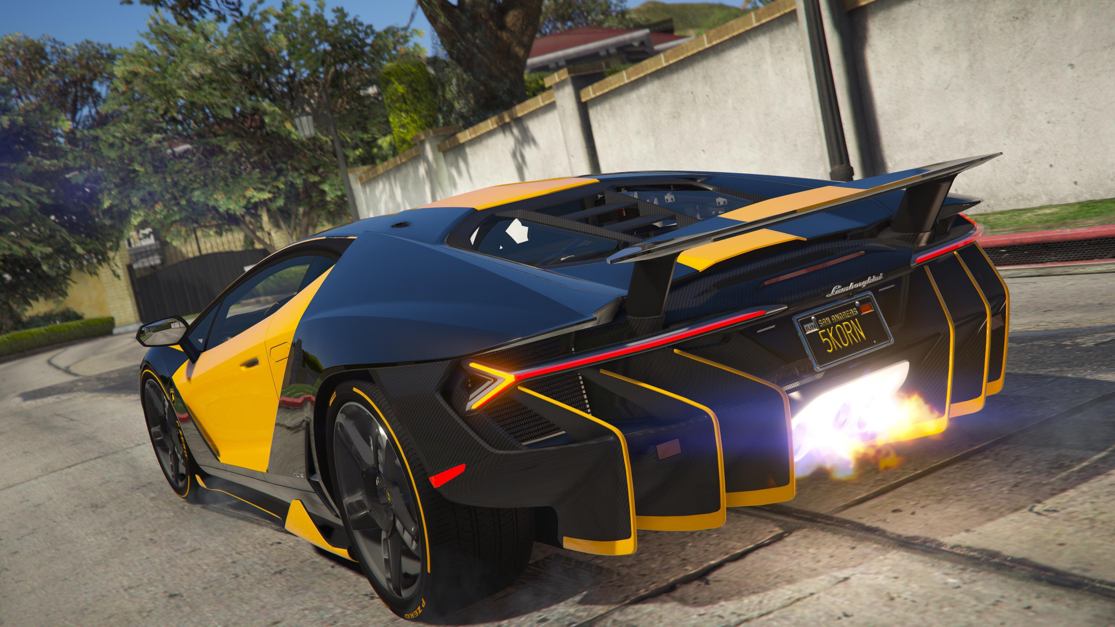 Lamborghini Centenario Lp 770 4 Remastered Gta5 Mods Com
