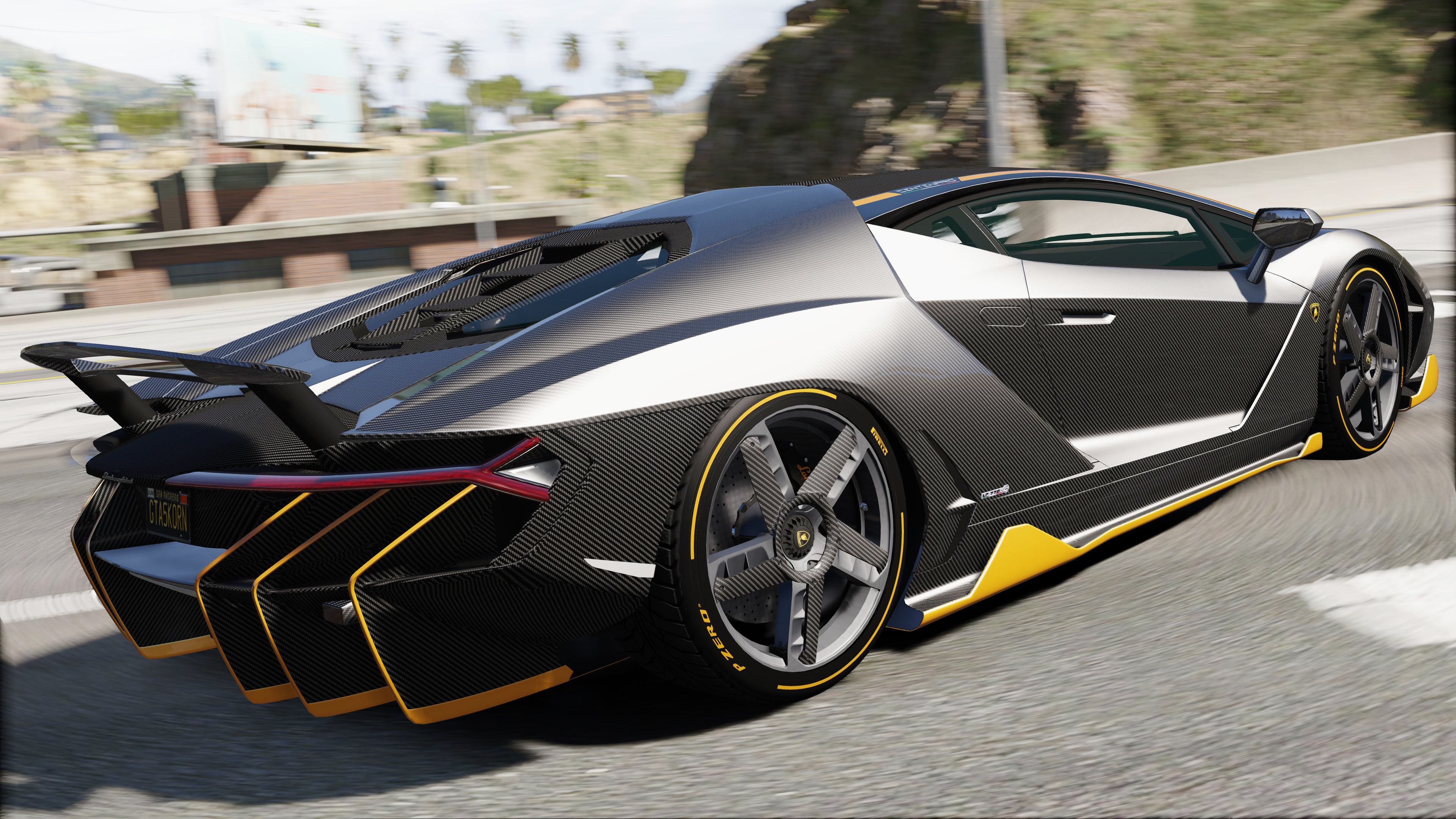 2017 Lamborghini Centenario LP 770-4 для GTA V - Скриншот 2