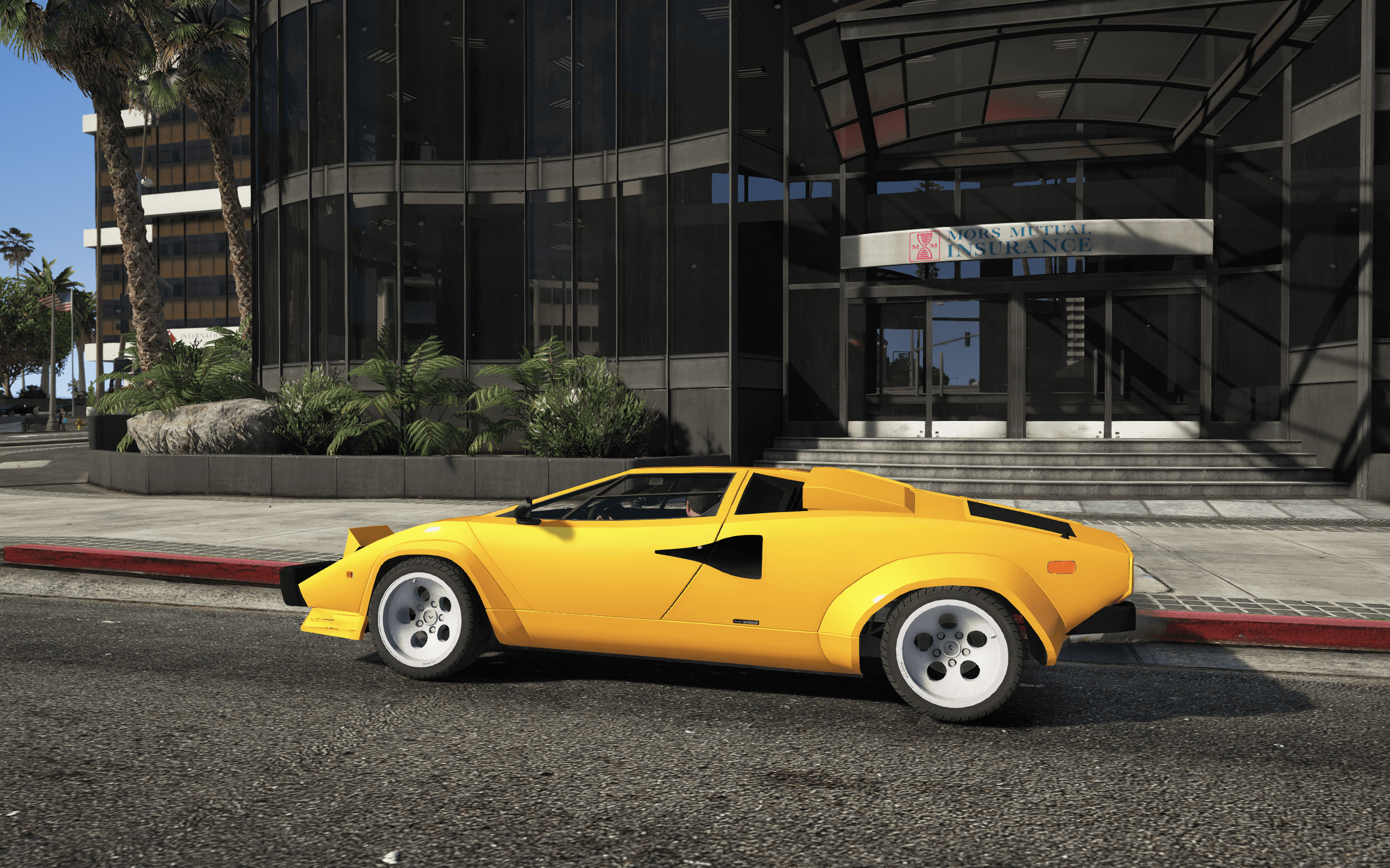 lamborghini countach qv 1988 us spec add on tuning gta5. Black Bedroom Furniture Sets. Home Design Ideas