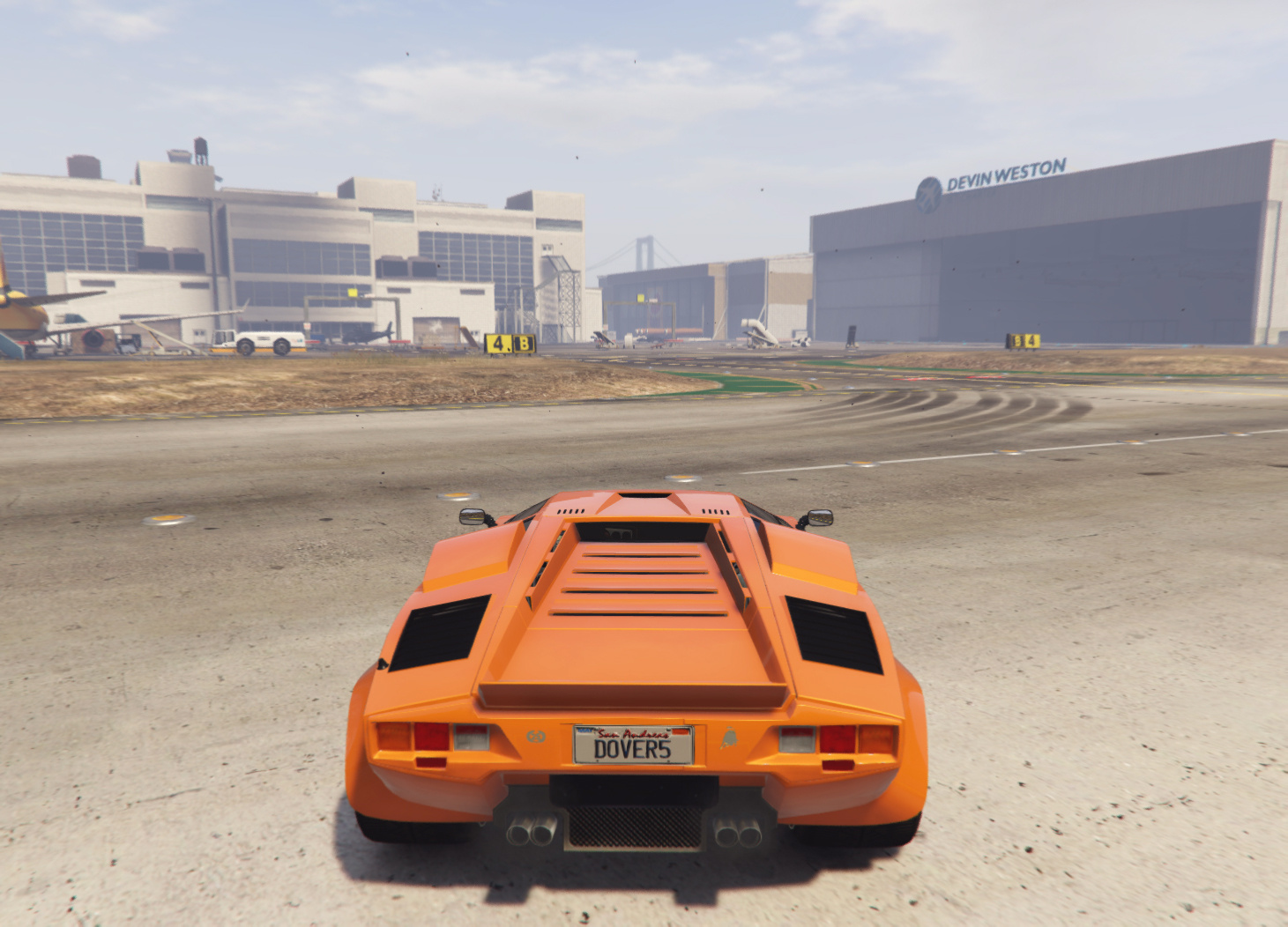 Lamborghini Countach Qv Targa Add On Tuning Gta5