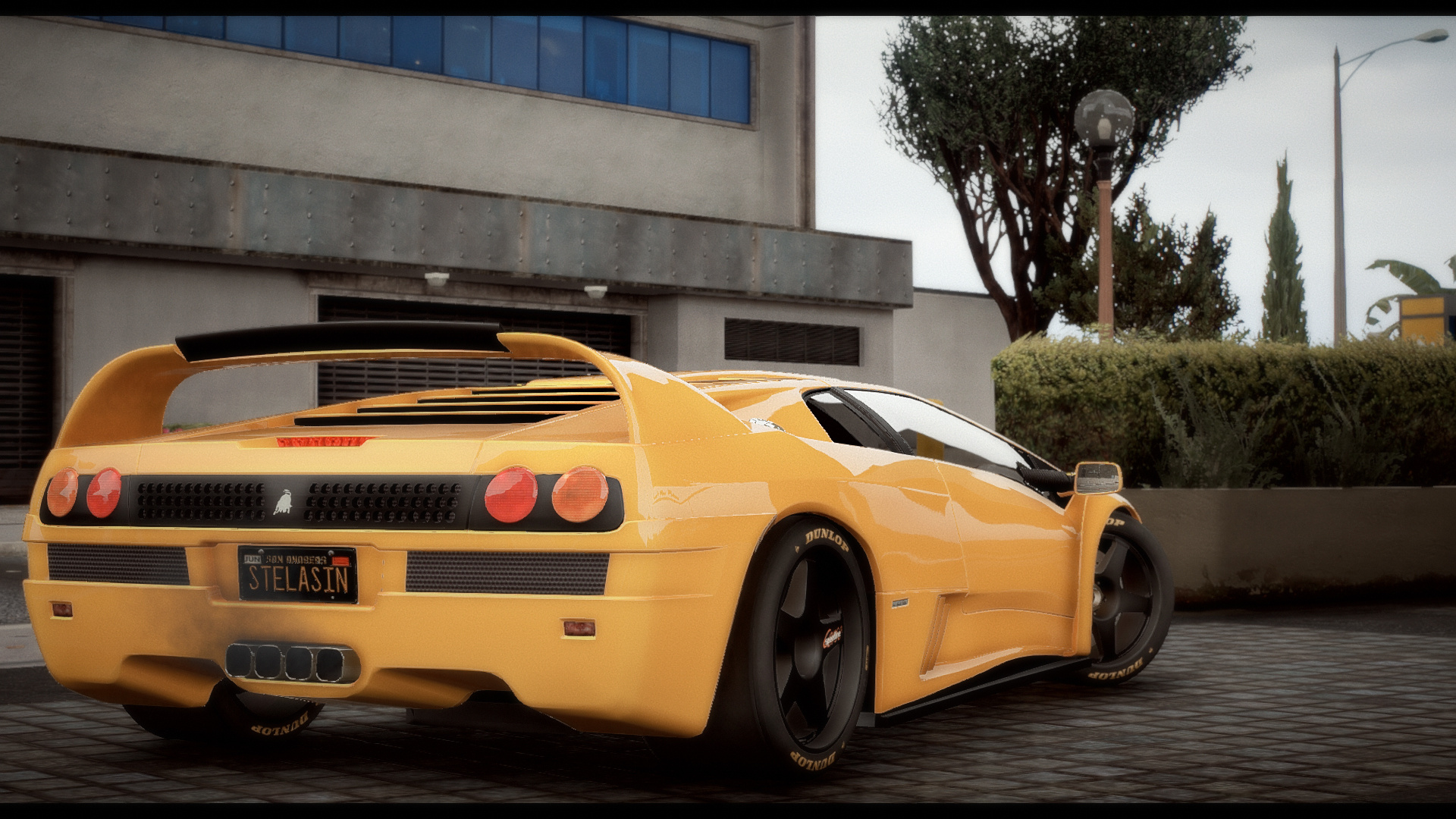 Lamborghini Diablo Gtr Add On Tuning Template Gta5 Mods Com