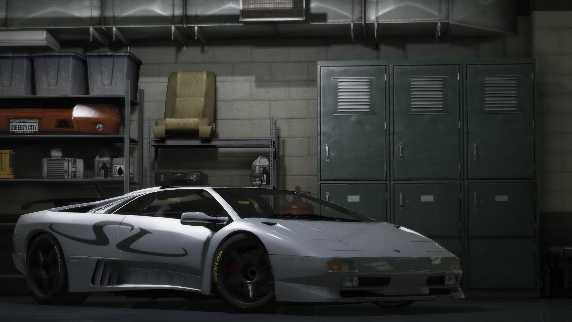 Lamborghini Diablo Gtr Add On Tuning Template Gta5 Mods Com