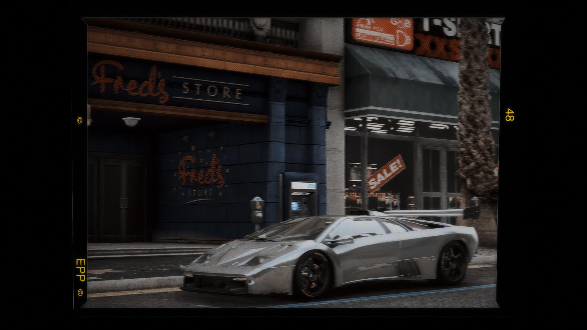 Lamborghini Diablo Gtr Add On Tuning Template Gta5