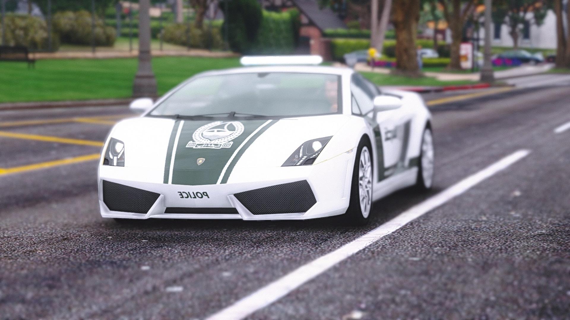 Lamborghini Gallardo Dubai Police - GTA5-Mods com