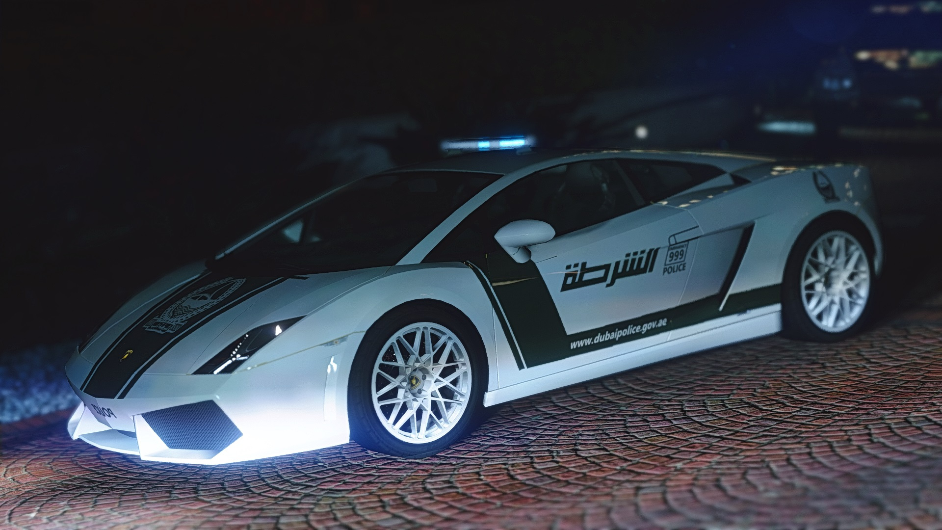 lamborghini gallardo dubai police gta5. Black Bedroom Furniture Sets. Home Design Ideas
