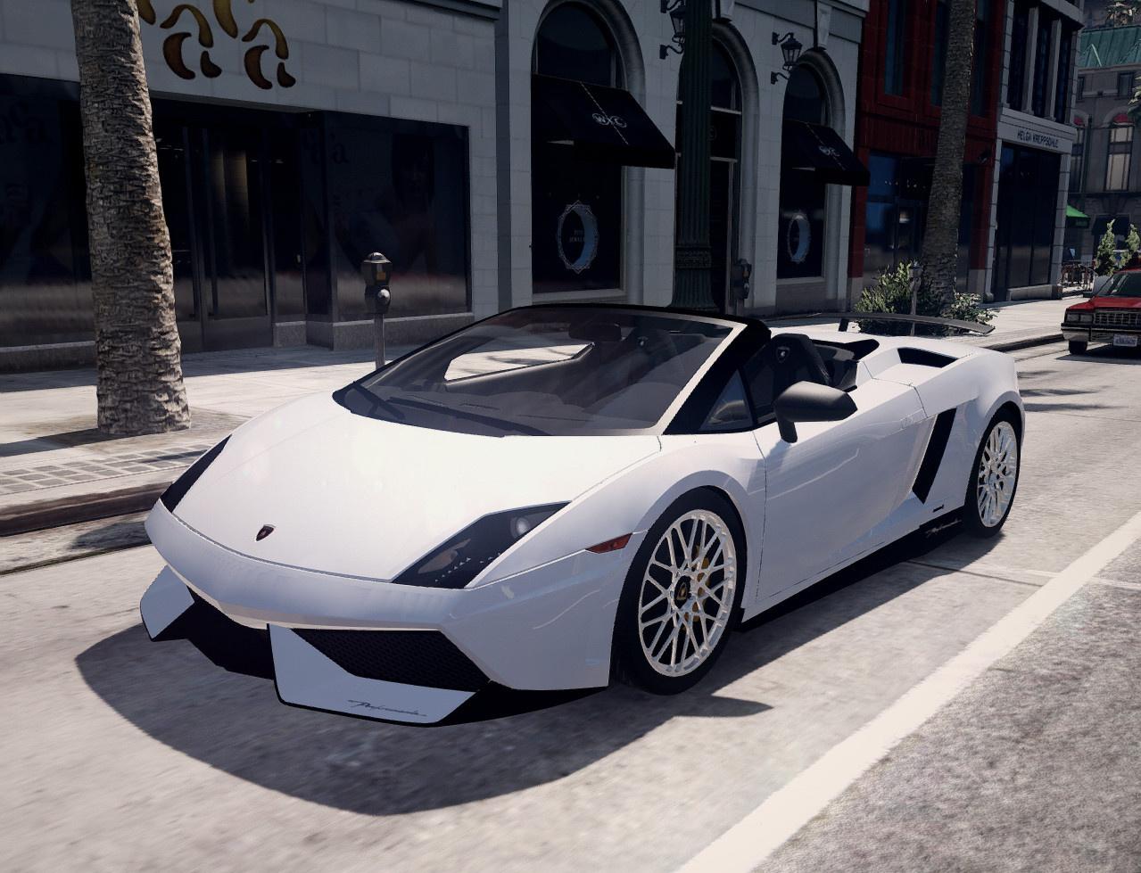Lamborghini Gallardo 570 4 Spyder Add On Replace