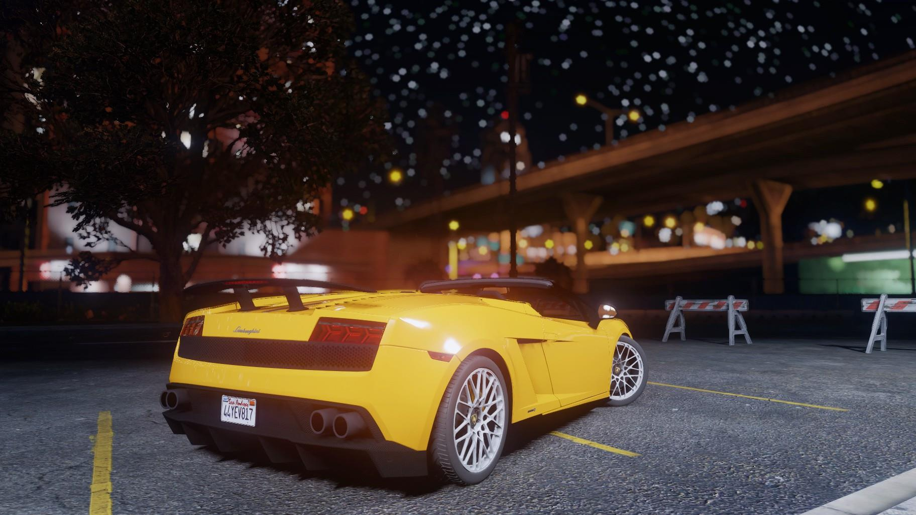 Lamborghini Gallardo 570 4 Spyder Add On Replace Tuning Gta5