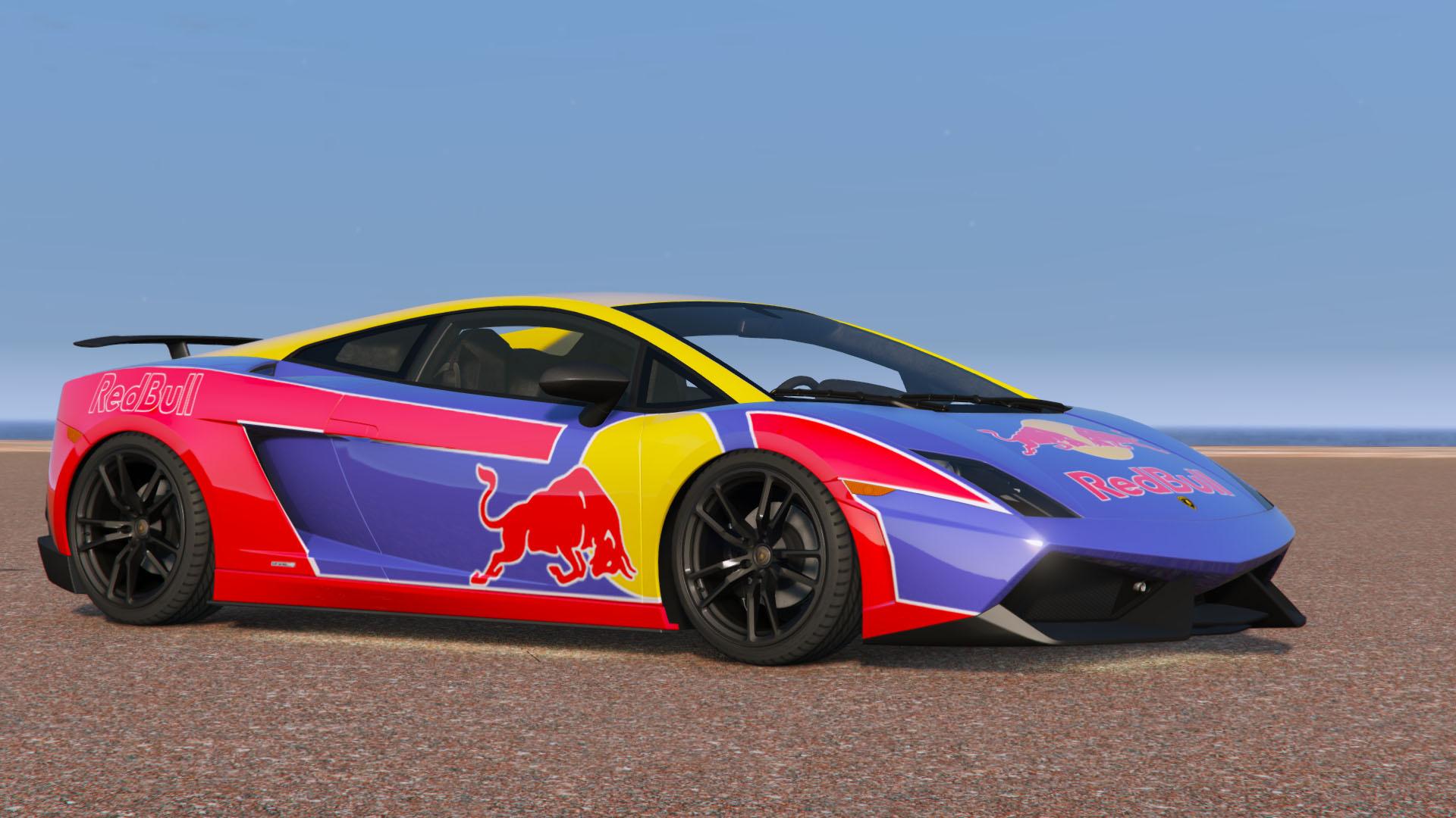 Red Bull Livery Lamborghini Gallardo Lp570 4 Superleggera