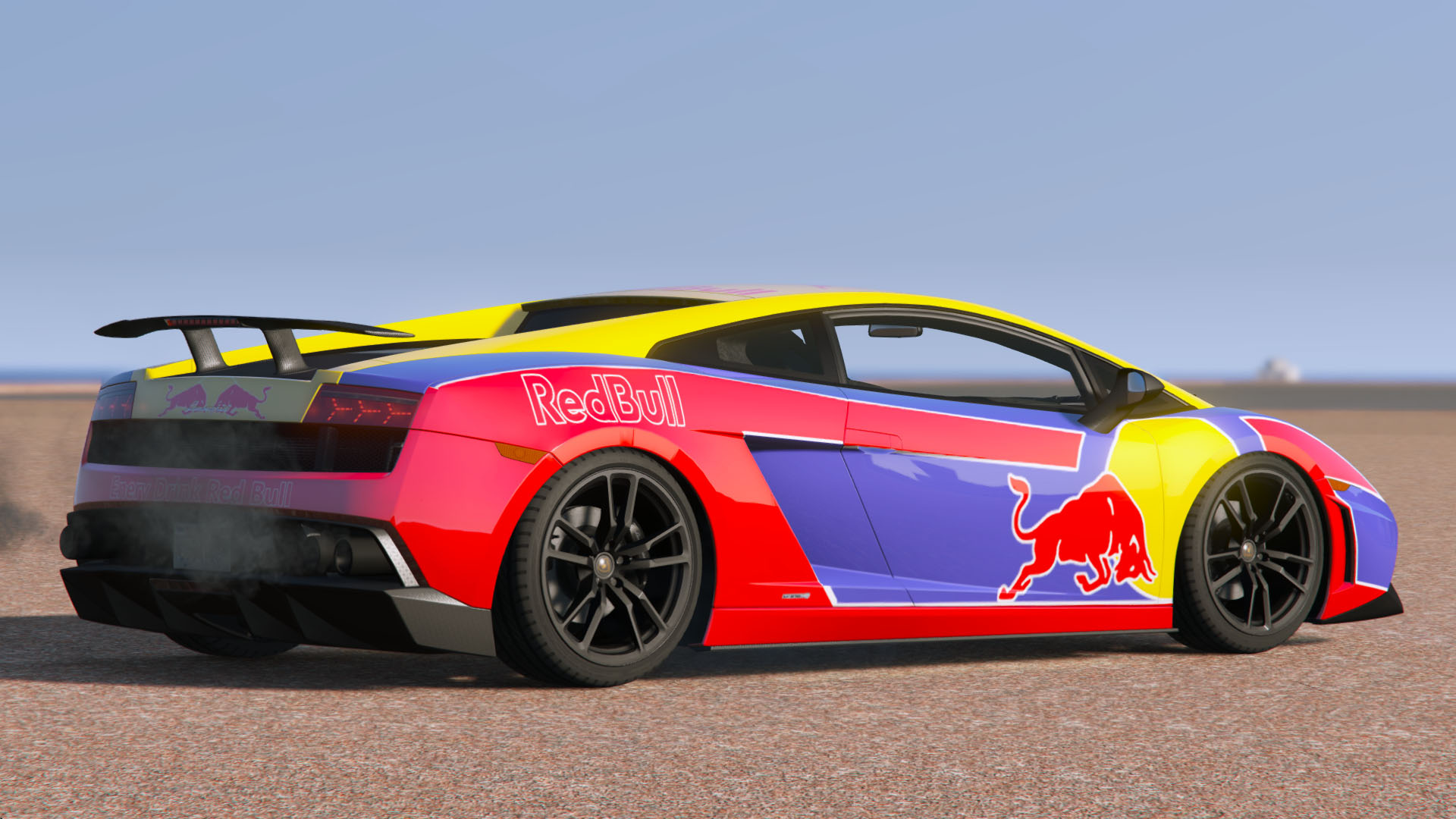 red bull livery lamborghini gallardo lp570 4 superleggera 2011 gta5. Black Bedroom Furniture Sets. Home Design Ideas
