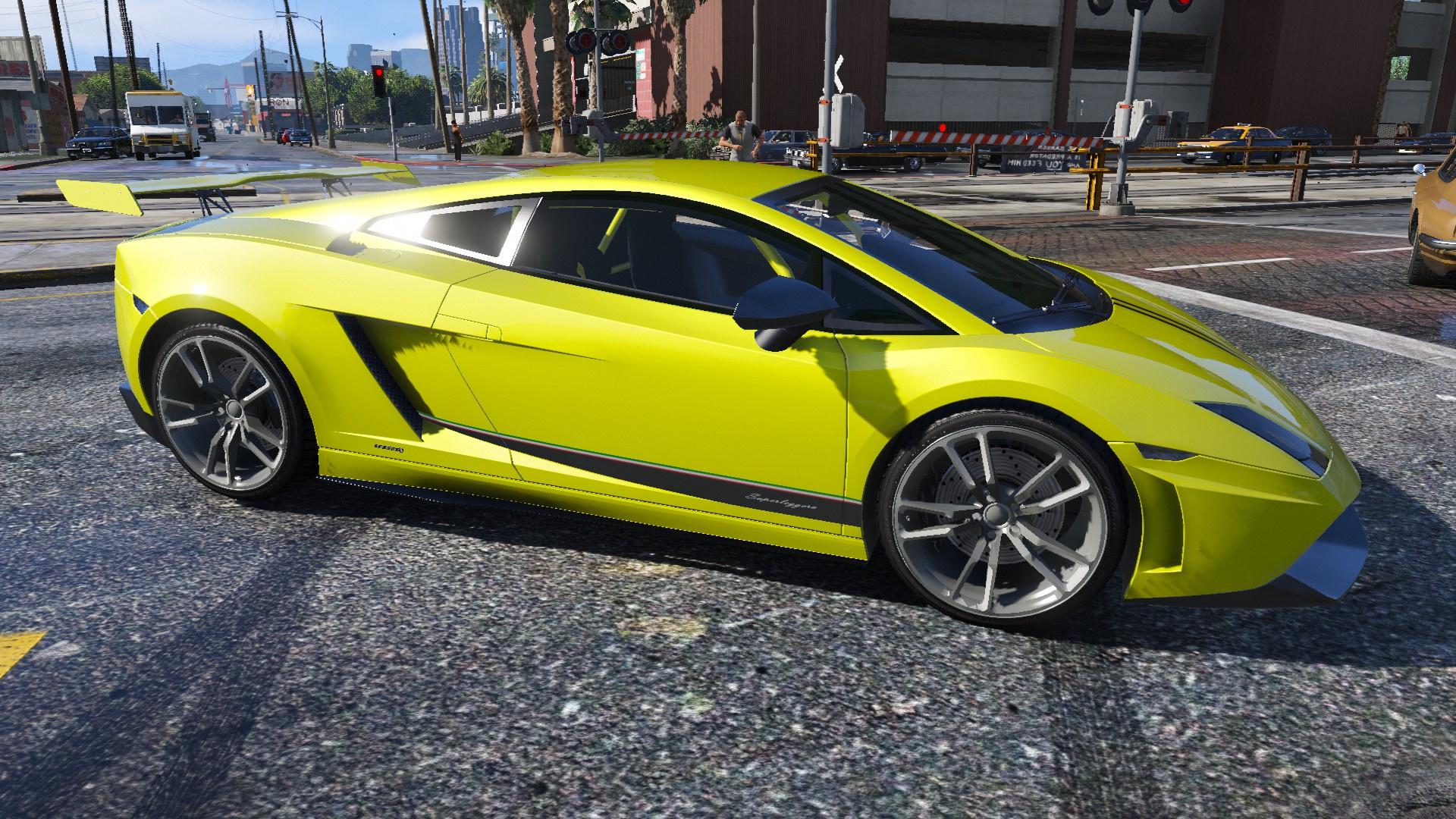 031dbe 2015 12 26 00010 - Lamborghini Gallardo Superleggera Lp570 4 Yellow