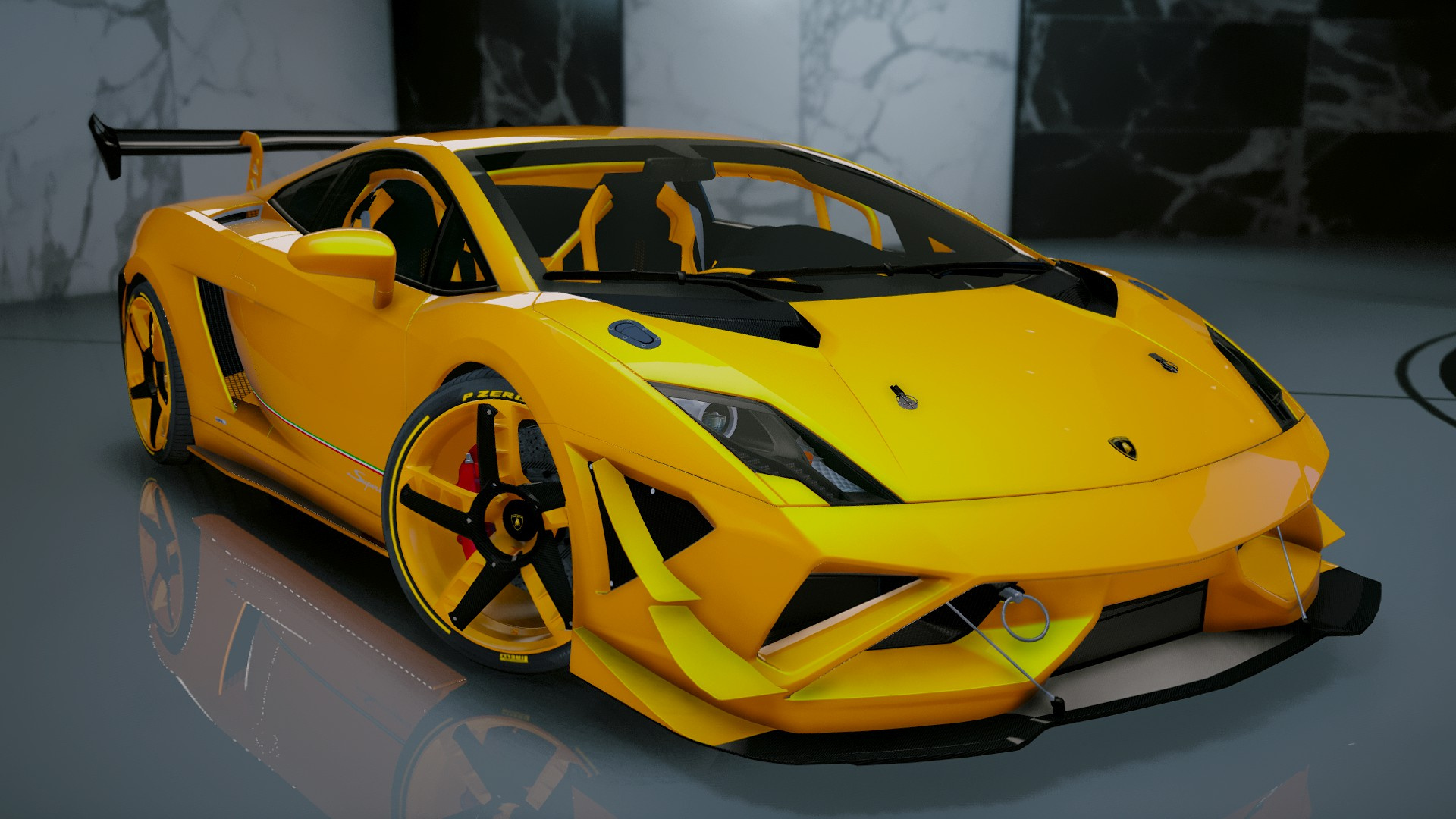 Great C3b1e6 Gta5mod Lamborghinigallardo Rmodcustoms (1)