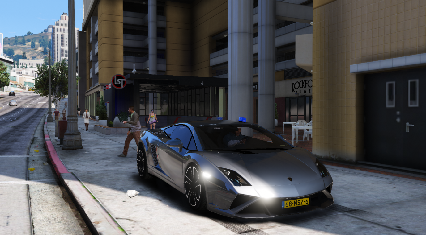 Lamborghini Gallardo Police Politie Els Replace Gta5 Mods Com