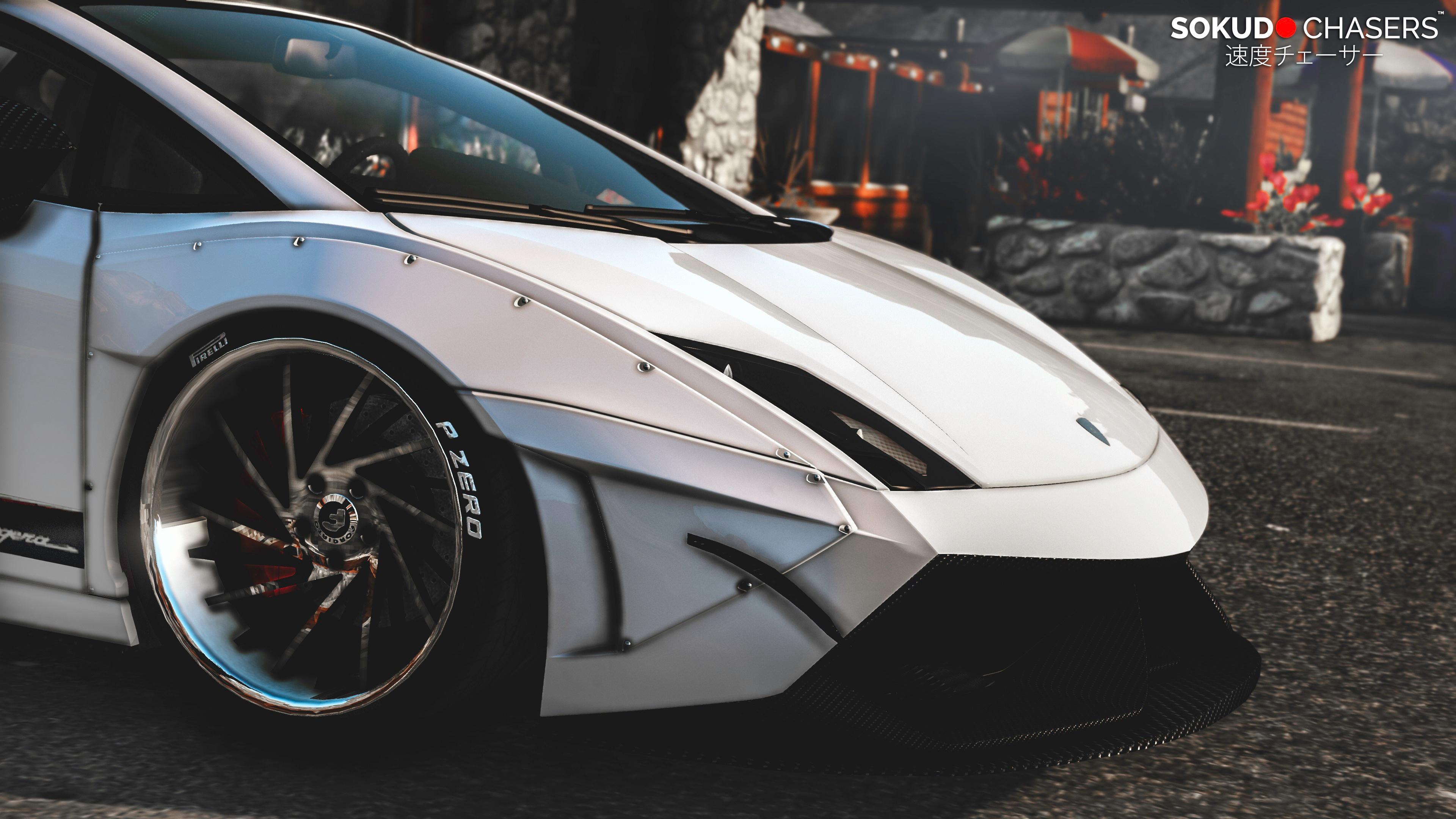 Lamborghini Gallardo Superleggera Libertywalk Add On Replace