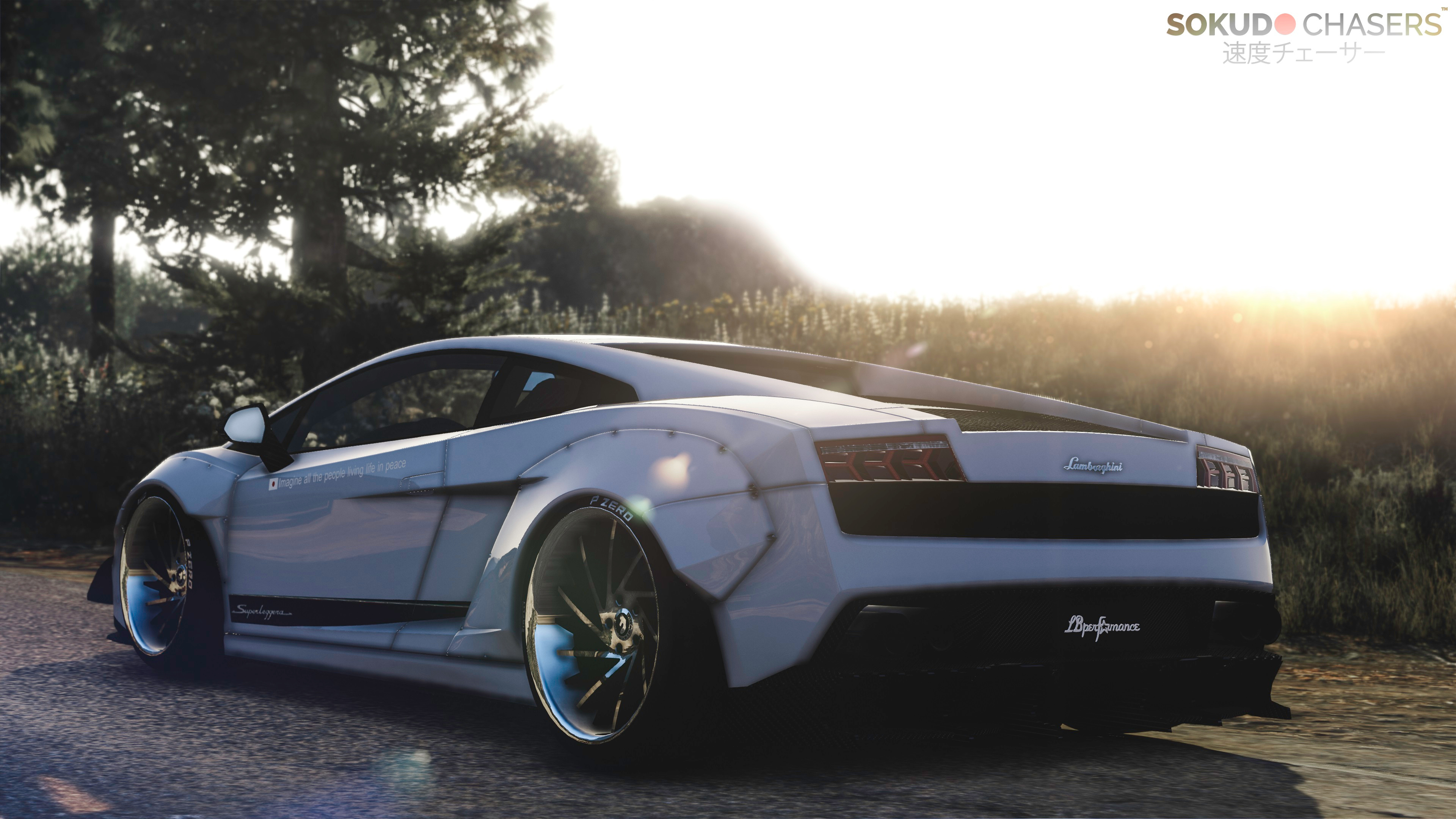 lamborghini gallardo superleggera libertywalk add on replace gta5. Black Bedroom Furniture Sets. Home Design Ideas
