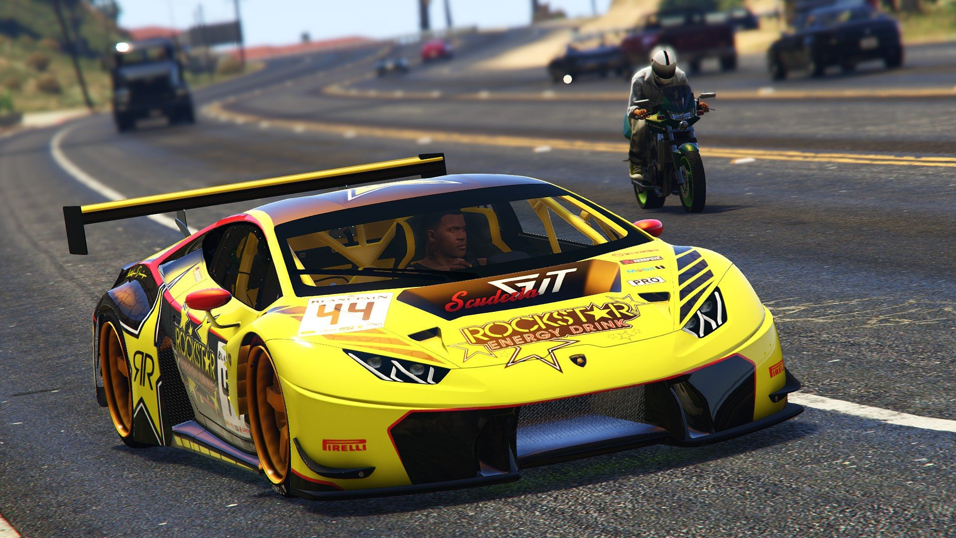 Lamborghini Huracan GT3 Add On Tuning GTA5 Modscom