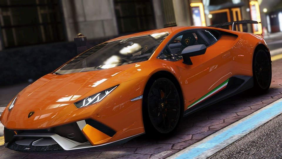lamborghini huracan performante add on gta5. Black Bedroom Furniture Sets. Home Design Ideas
