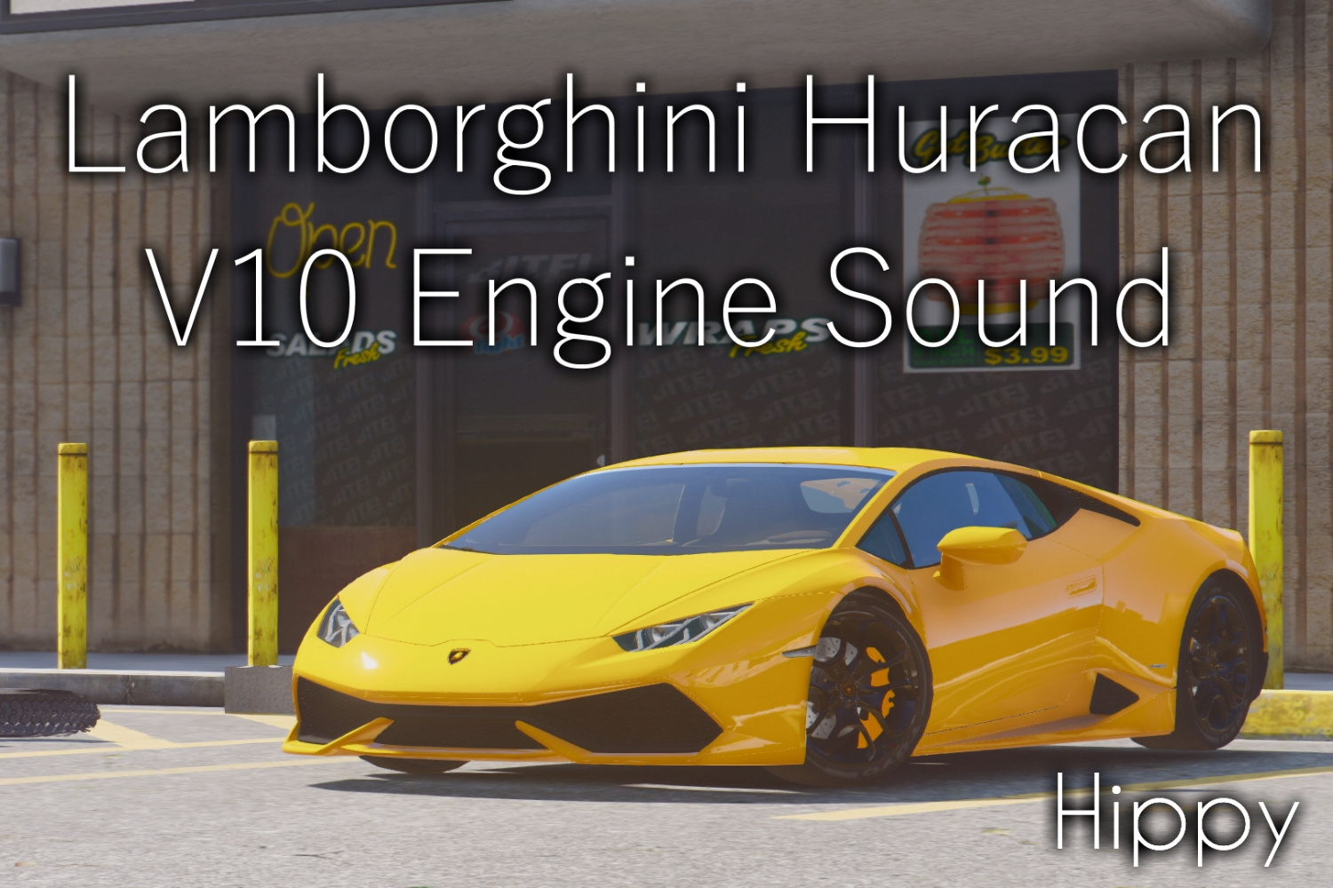 lamborghini huracan v10 engine sound gta5. Black Bedroom Furniture Sets. Home Design Ideas