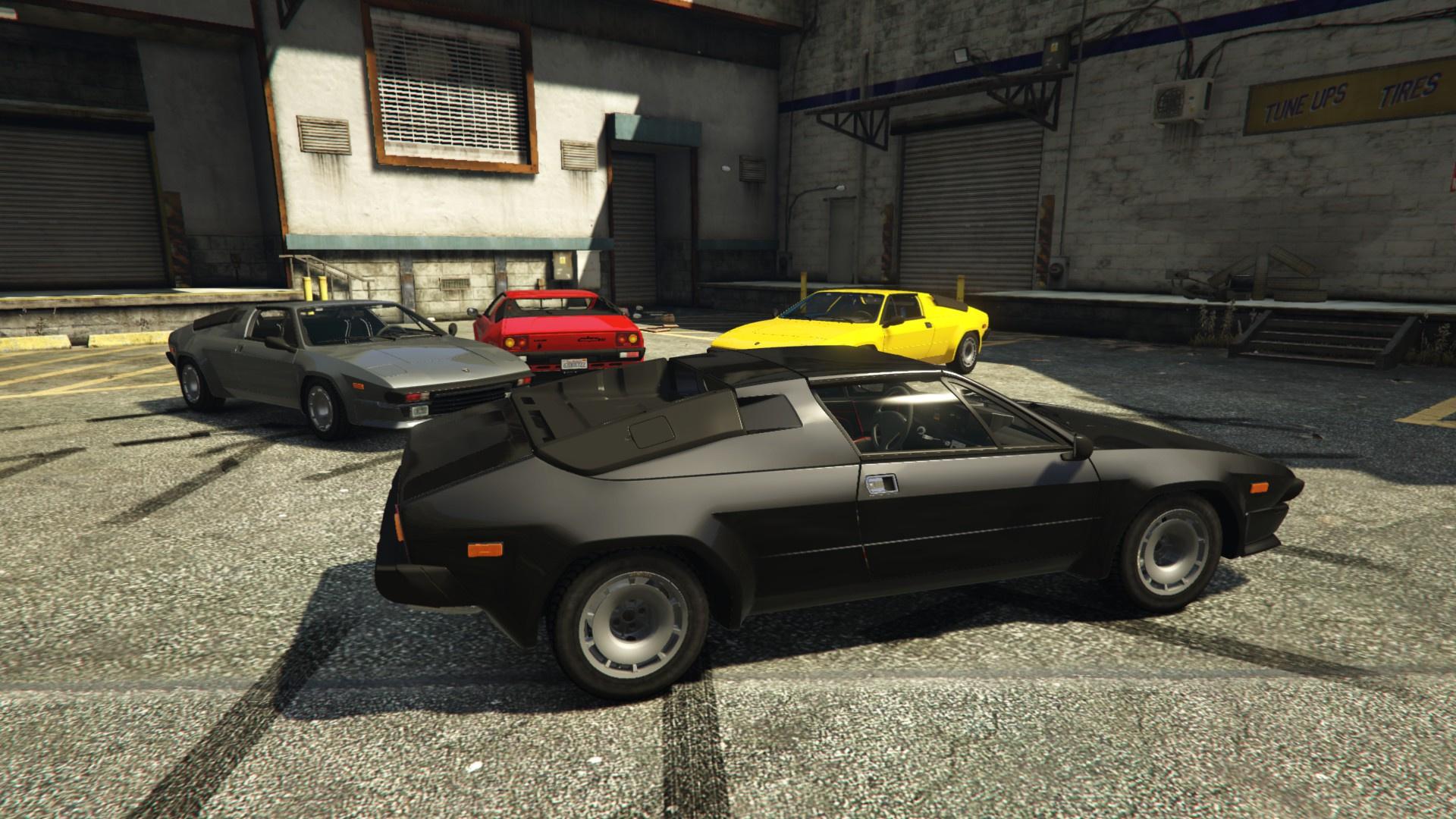 Lamborghini Jalpa 1988 Gta5 Mods Com