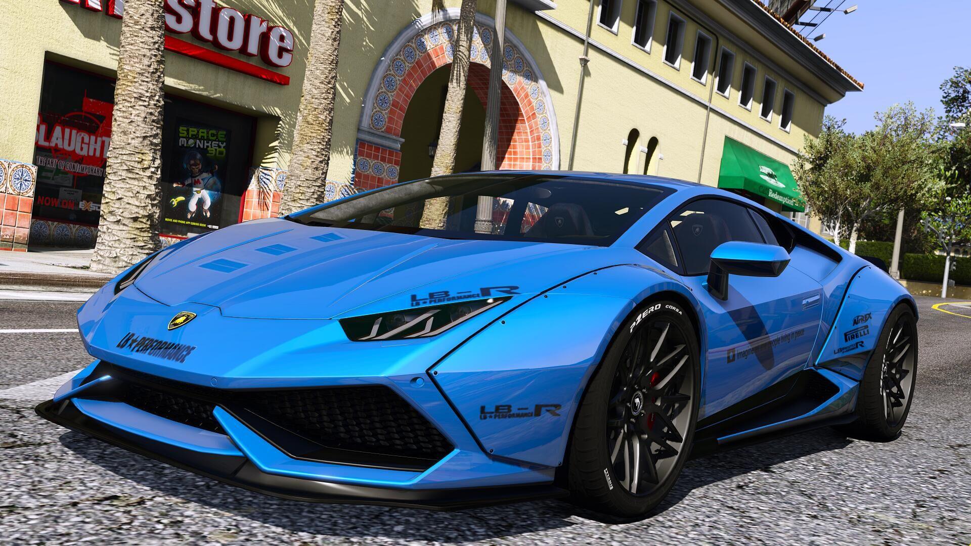Lamborghini huracan LP610 [LibertyWalk  AddOn]  GTA5Mods.com