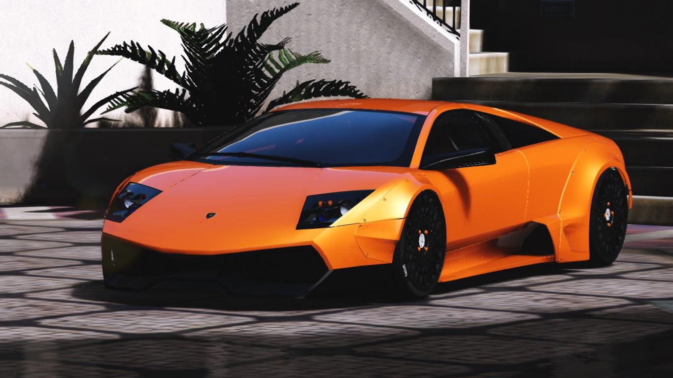 Lamborghini Murcielago Sv Libertywalk Gta5 Mods Com