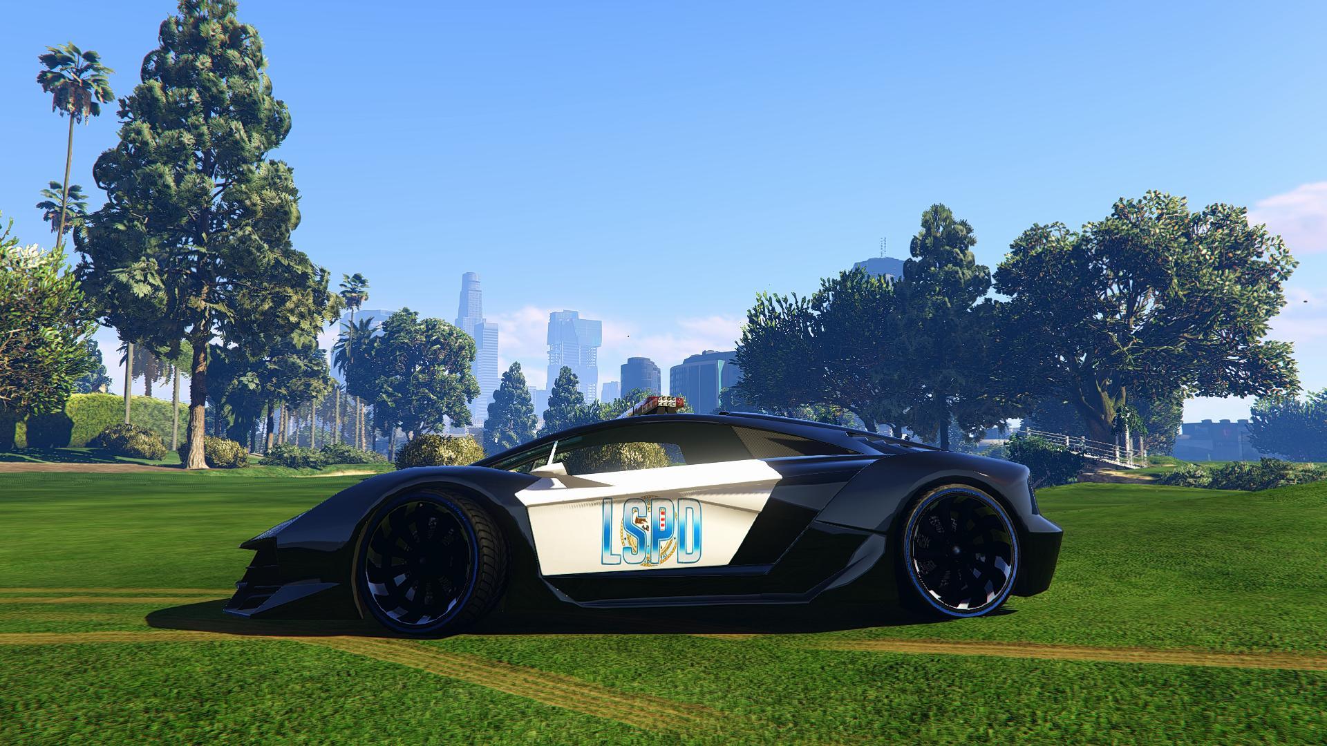 Lamborghini Police Zentorno Lspd Gta5 Mods Com