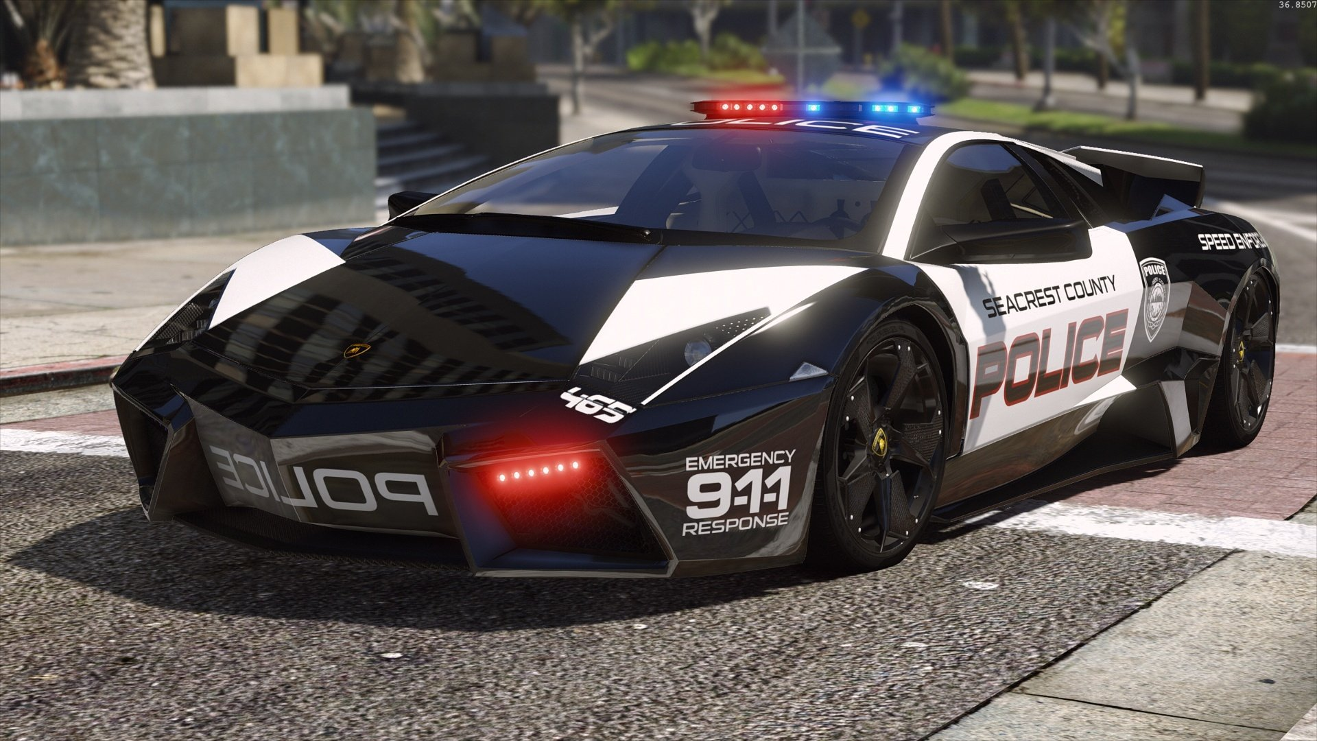 Lamborghini Reventon Hot Pursuit Police Autovista Add