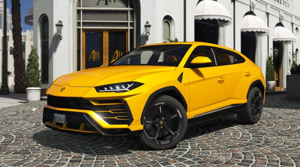 Lamborghini Urus 2018 Addon  GTA5Mods.com