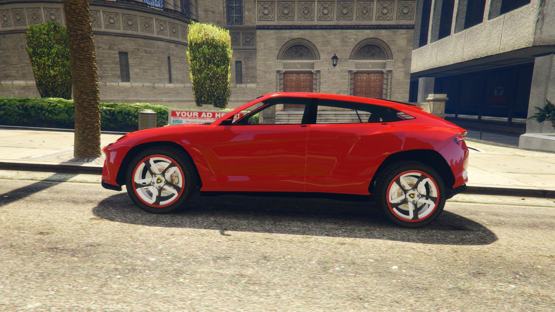 Lamborghini Urus Gta5 Mods Com