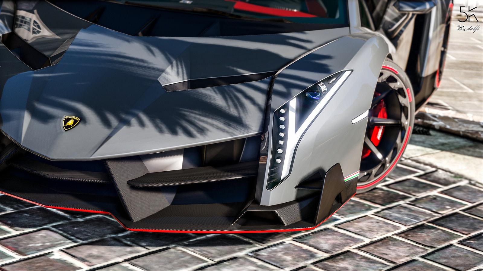 Lamborghini Veneno Lp750 4 Add On Oiv Gta5 Mods Com