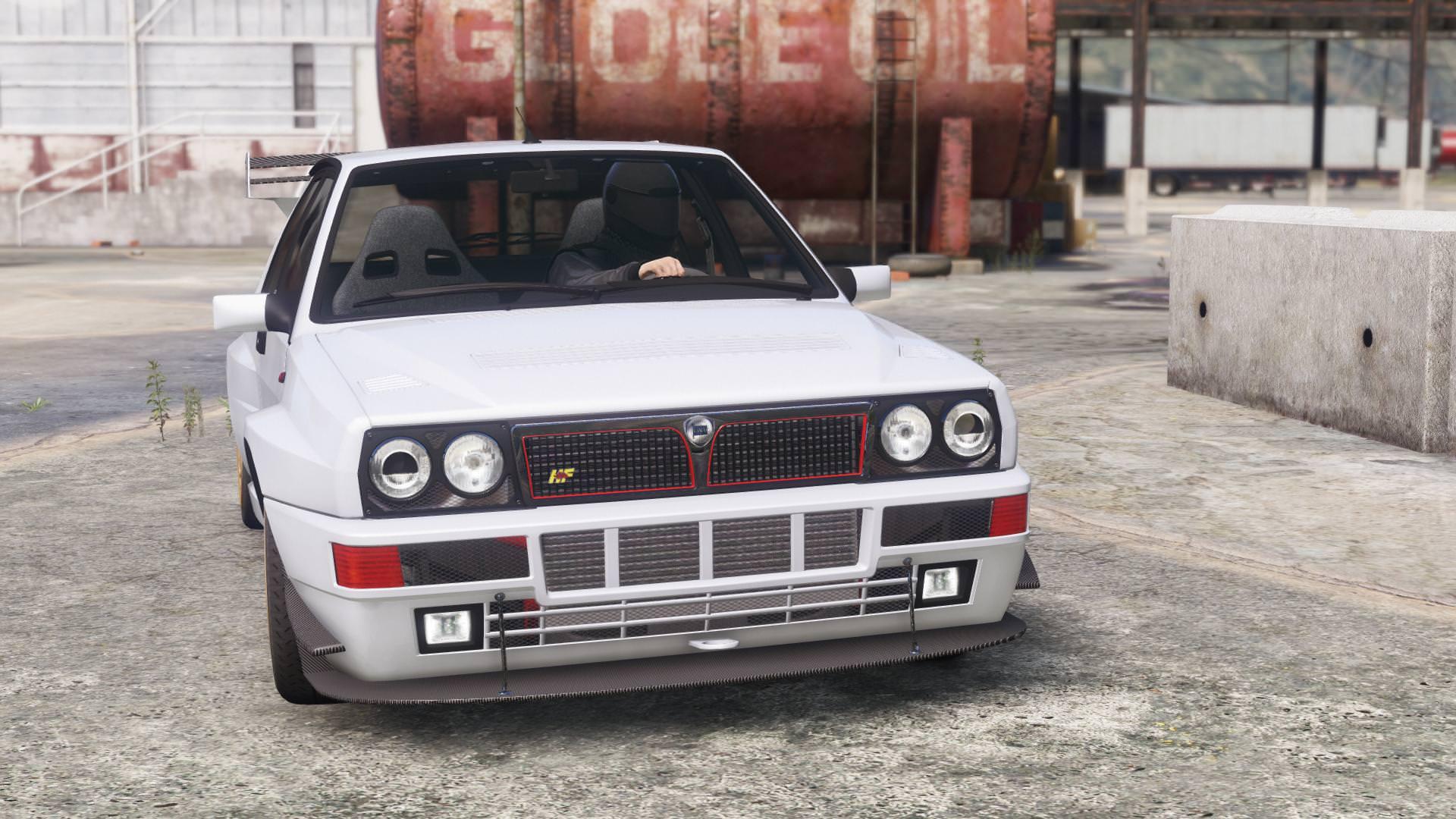 """Vaizdo rezultatas pagal užklausą """"Lancia Delta Intergrale  gta 5"""""""