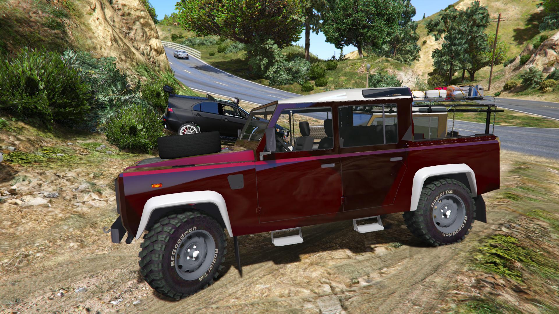 Land Rover Defender 110 Pickup (Unlocked) - GTA5-Mods.com
