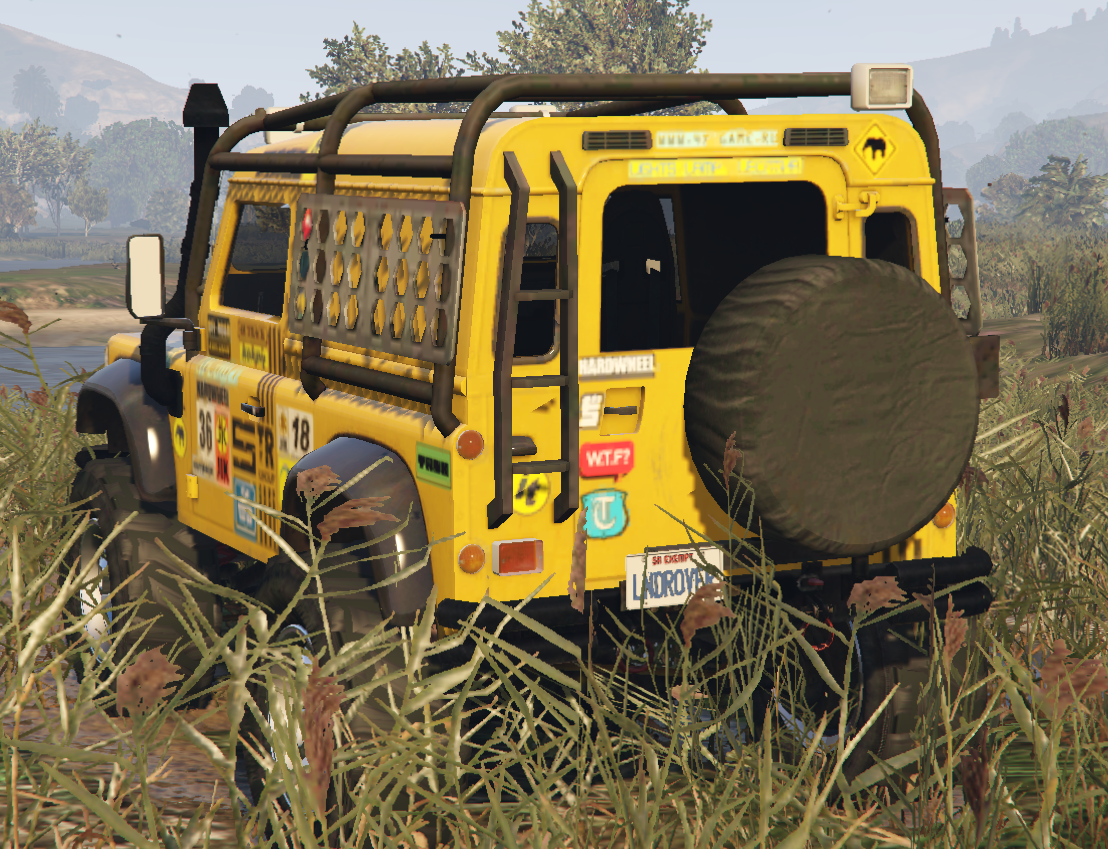 Land Rover Defender 90 [Add-On / Replace] - GTA5-Mods com